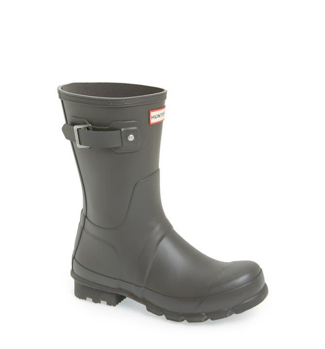Hunter 'Original Short' Rain Boot (Men) | Nordstrom
