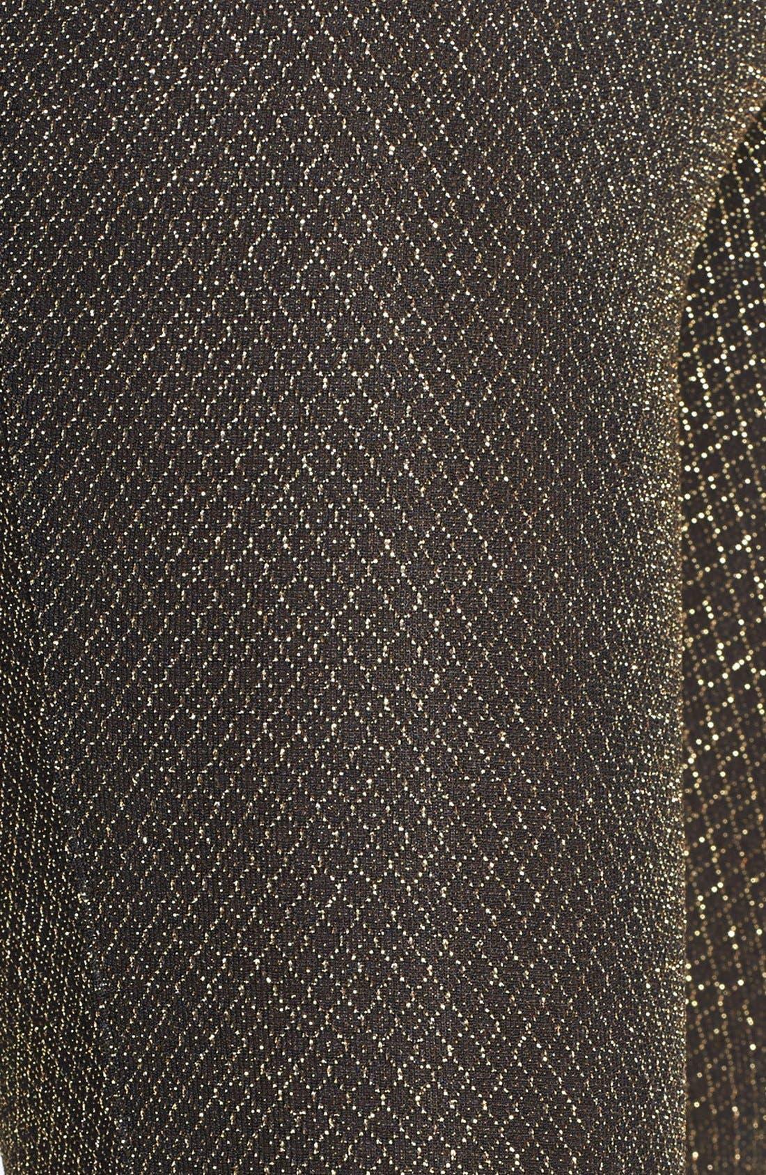 Alternate Image 3  - Leith Metallic Leggings