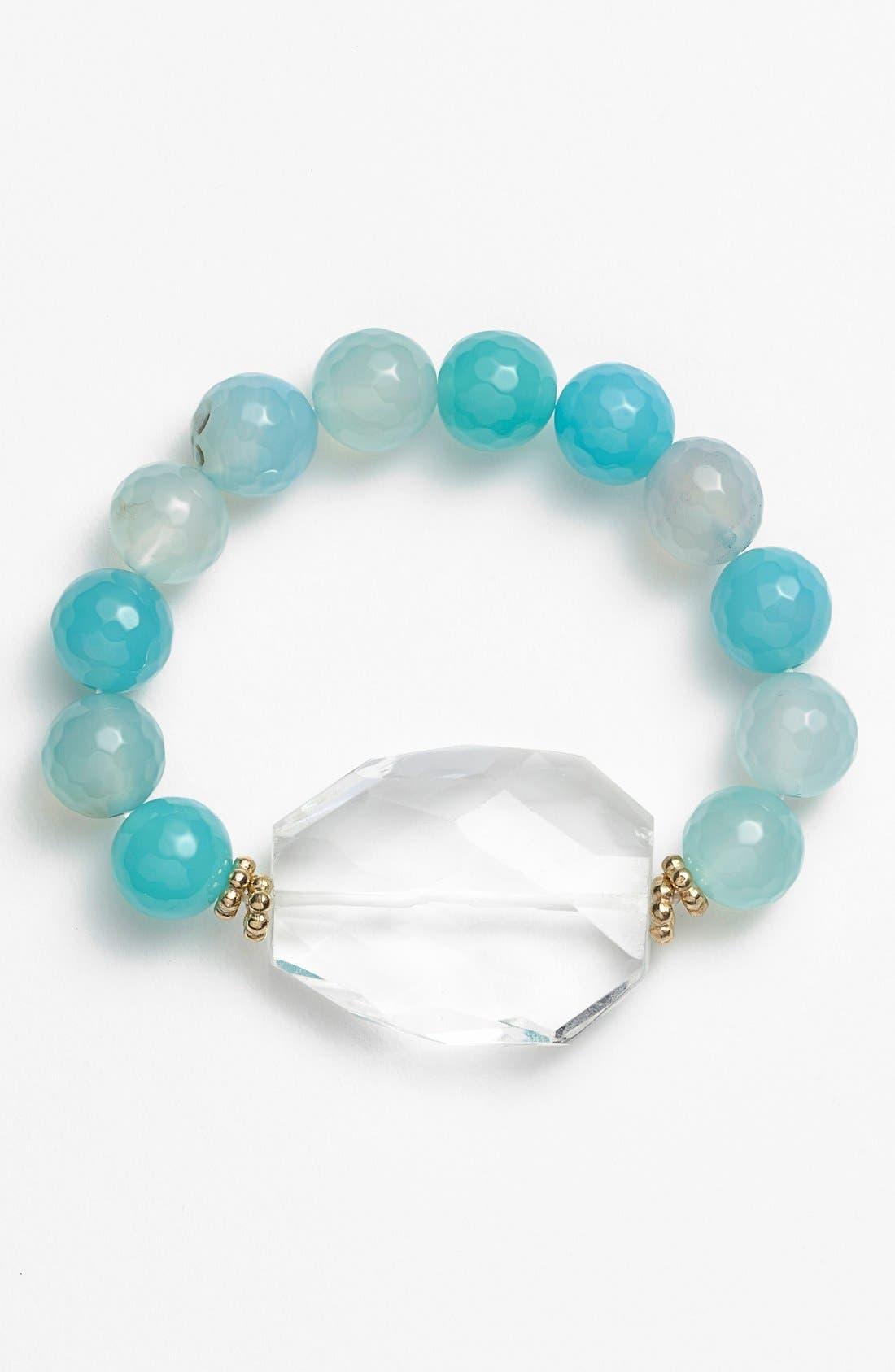 Alternate Image 1 Selected - Panacea Quartz Stretch Bracelet
