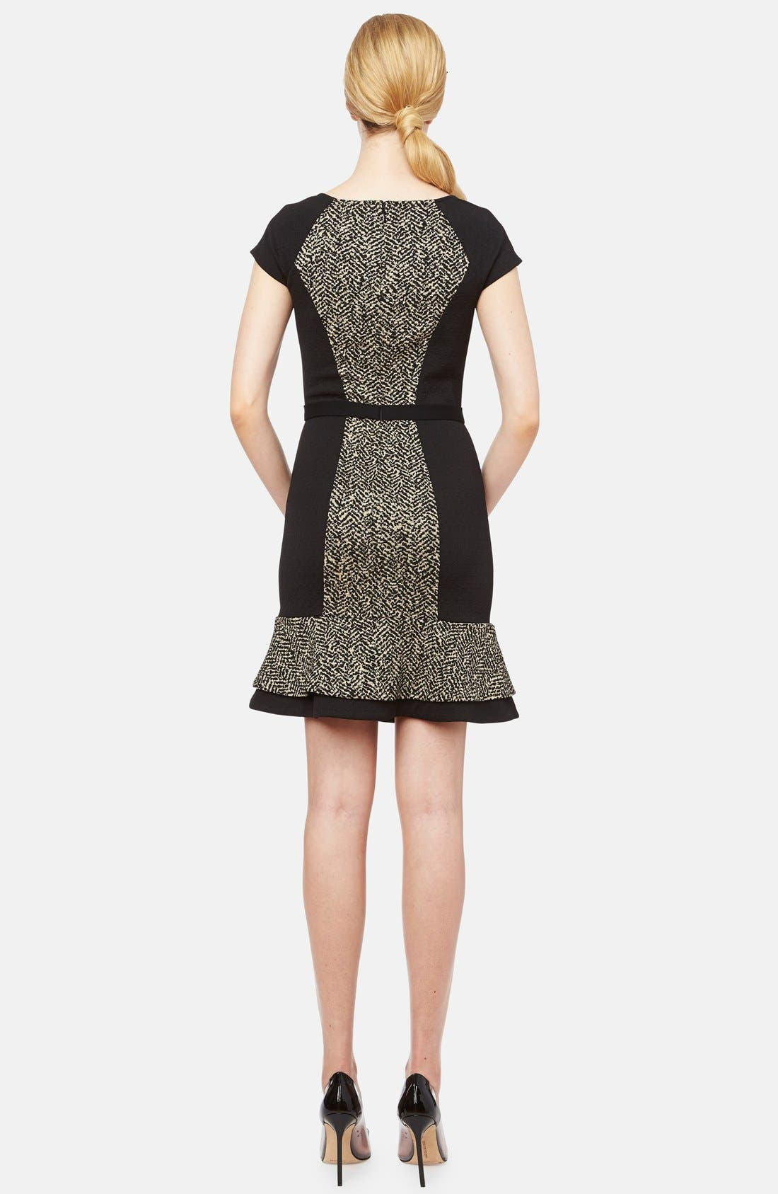 Alternate Image 2  - ERIN erin fetherston 'Liza' Belted Jacquard Fit & Flare Dress