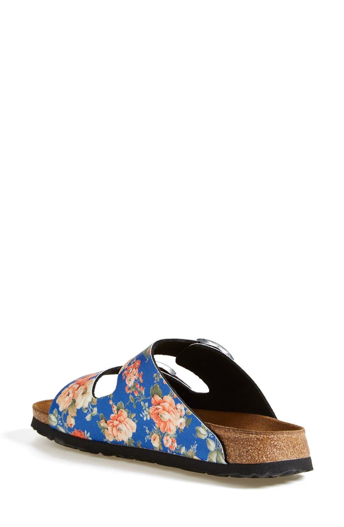 Alternate Image 2  - Birkenstock 'Arizona' Floral Print Sandal (Women)