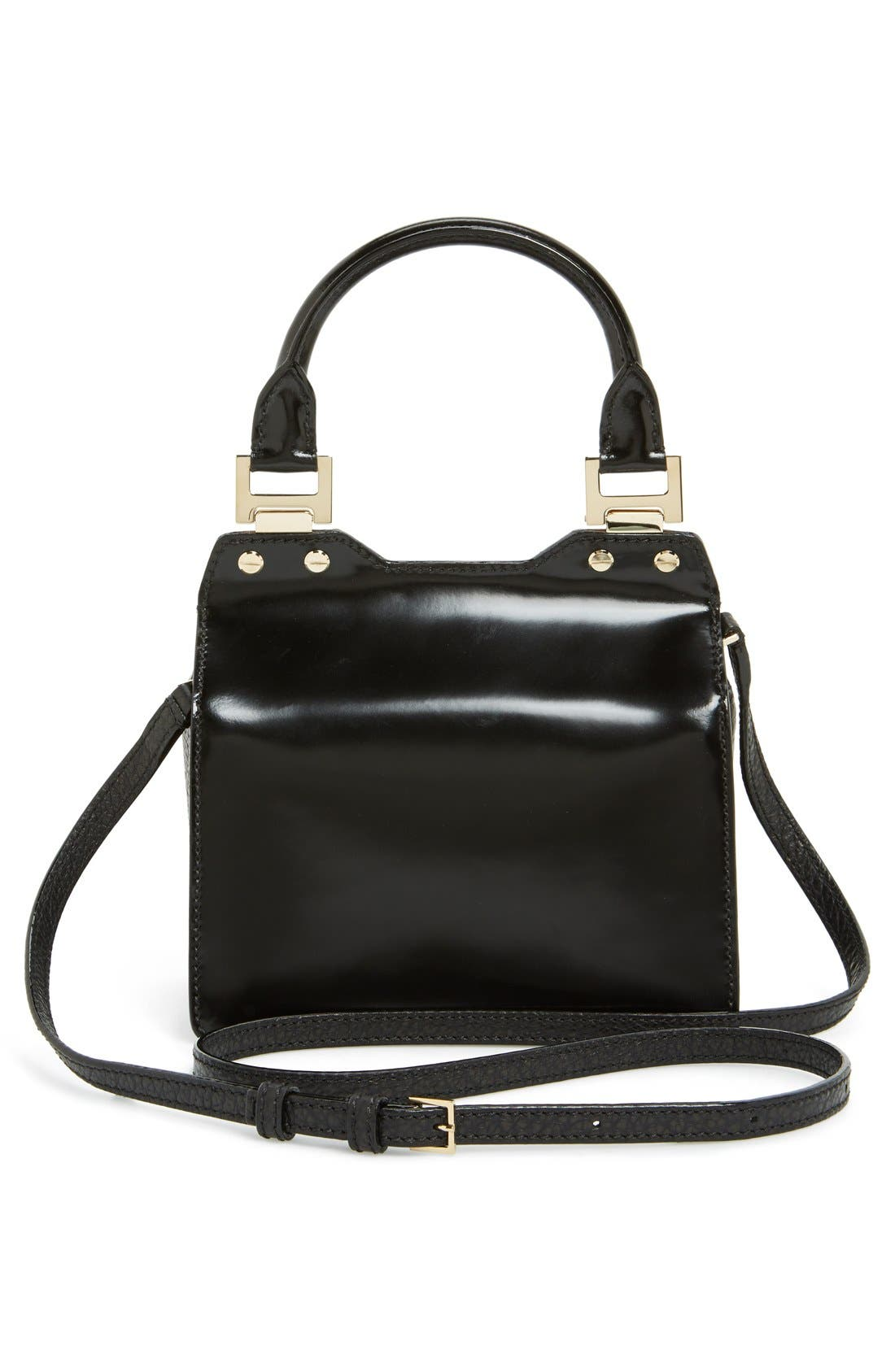 Alternate Image 4  - Jimmy Choo 'Amie' Top Handle Leather Satchel