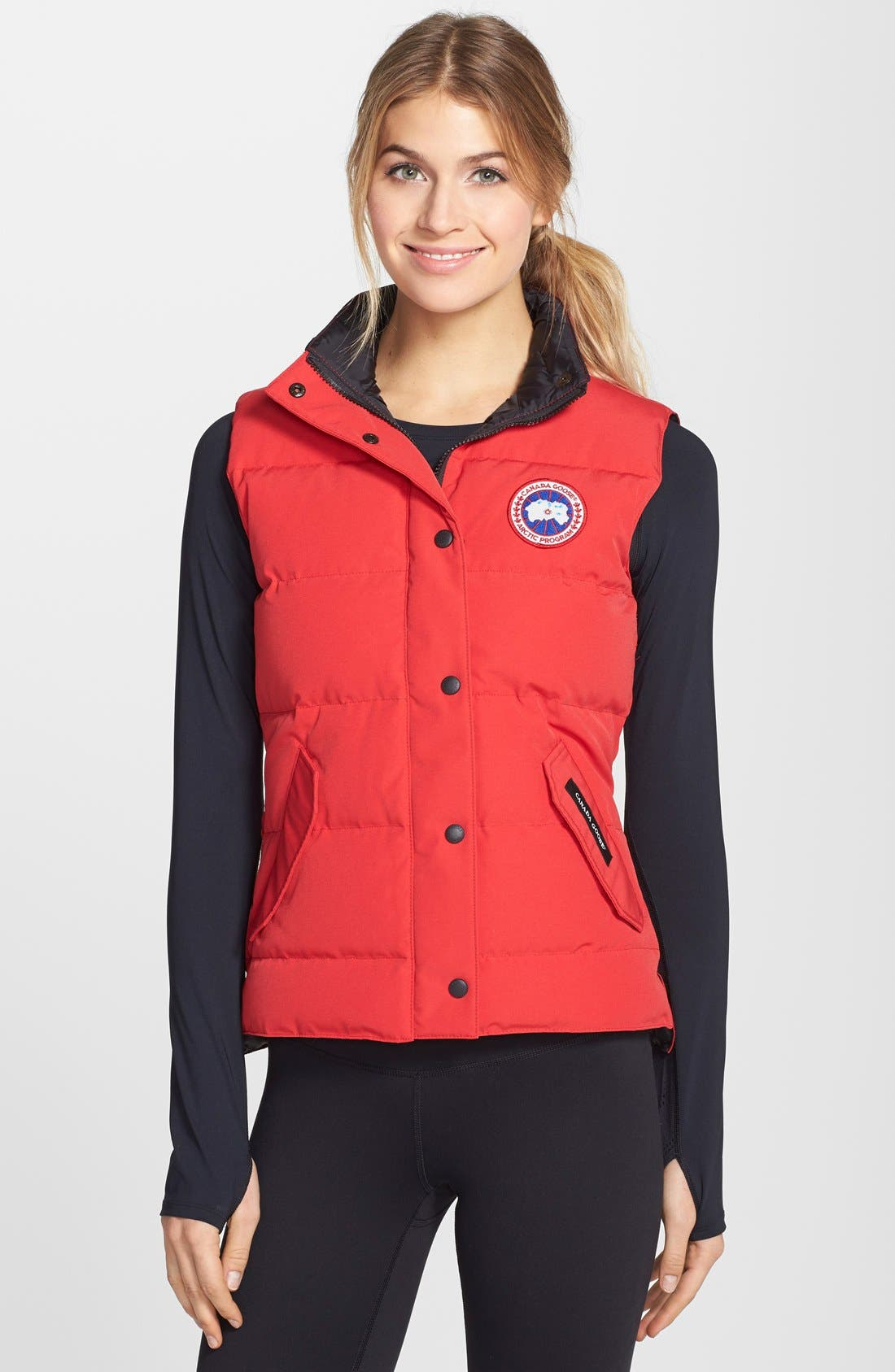 Alternate Image 1 Selected - Canada Goose 'Freestyle' Slim Fit Down Vest (Online Only)