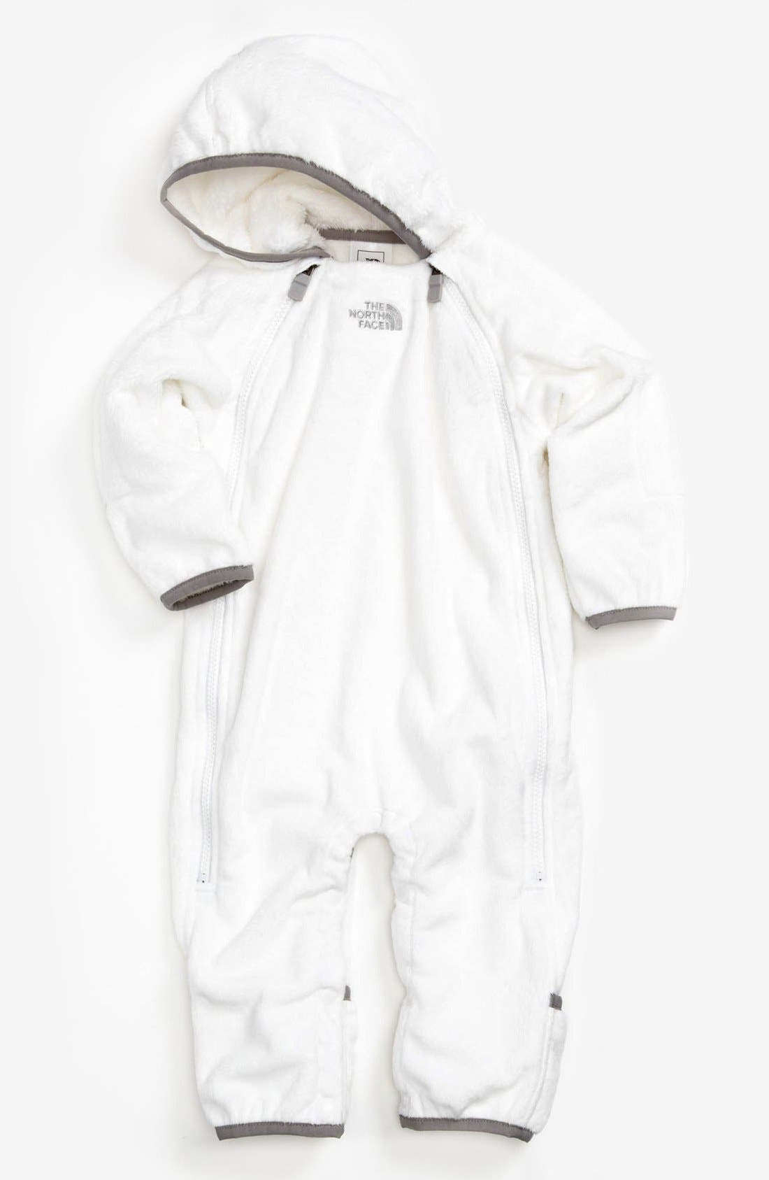 The North Face 'Buttery' Fleece Bunting (Baby)