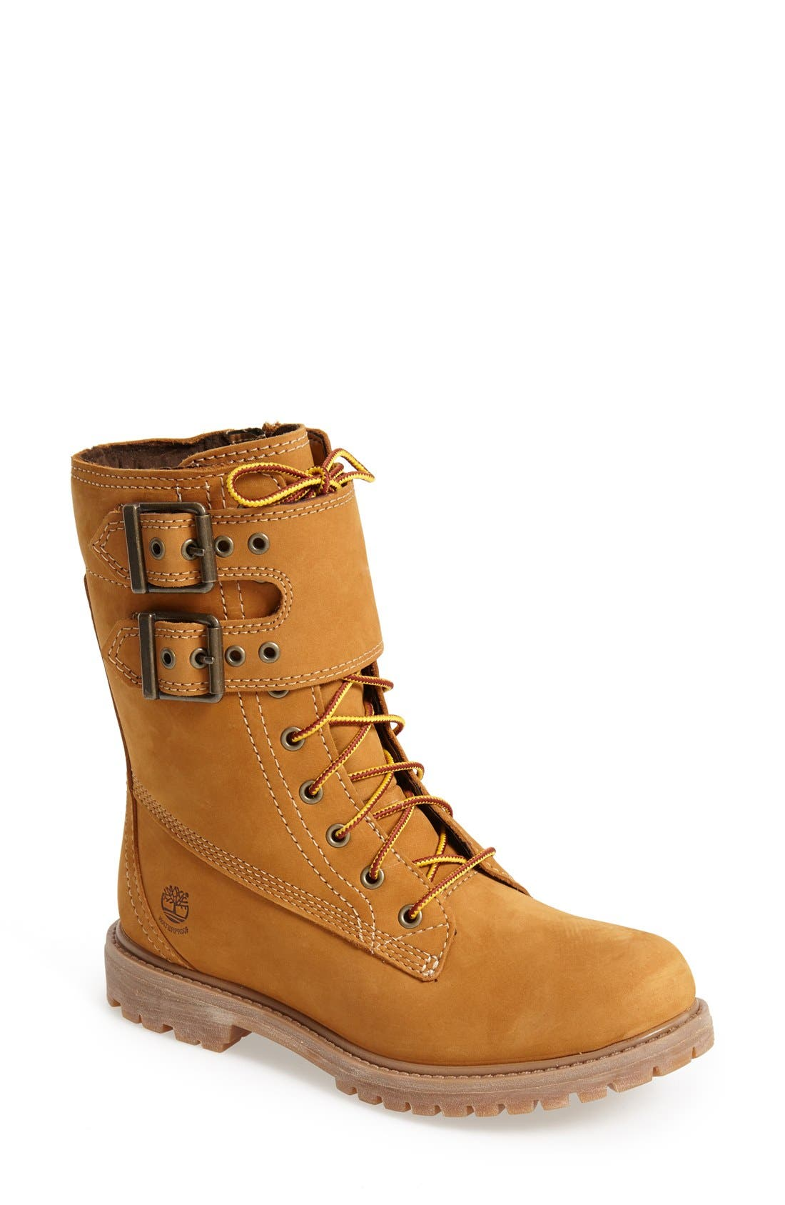Alternate Image 1 Selected - Timberland Earthkeepers® Waterproof Double Strap Boot (Women)