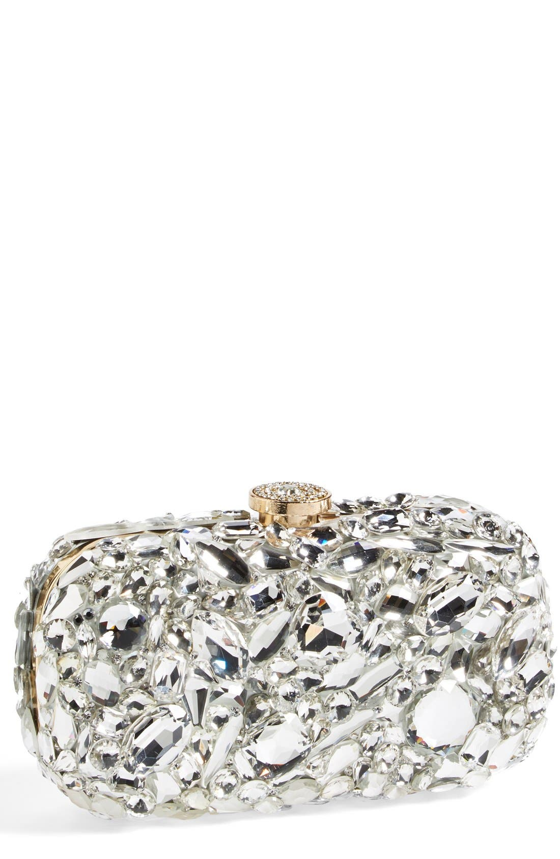 Alternate Image 1 Selected - Natasha Couture 'Ice Crystal' Minaudiere