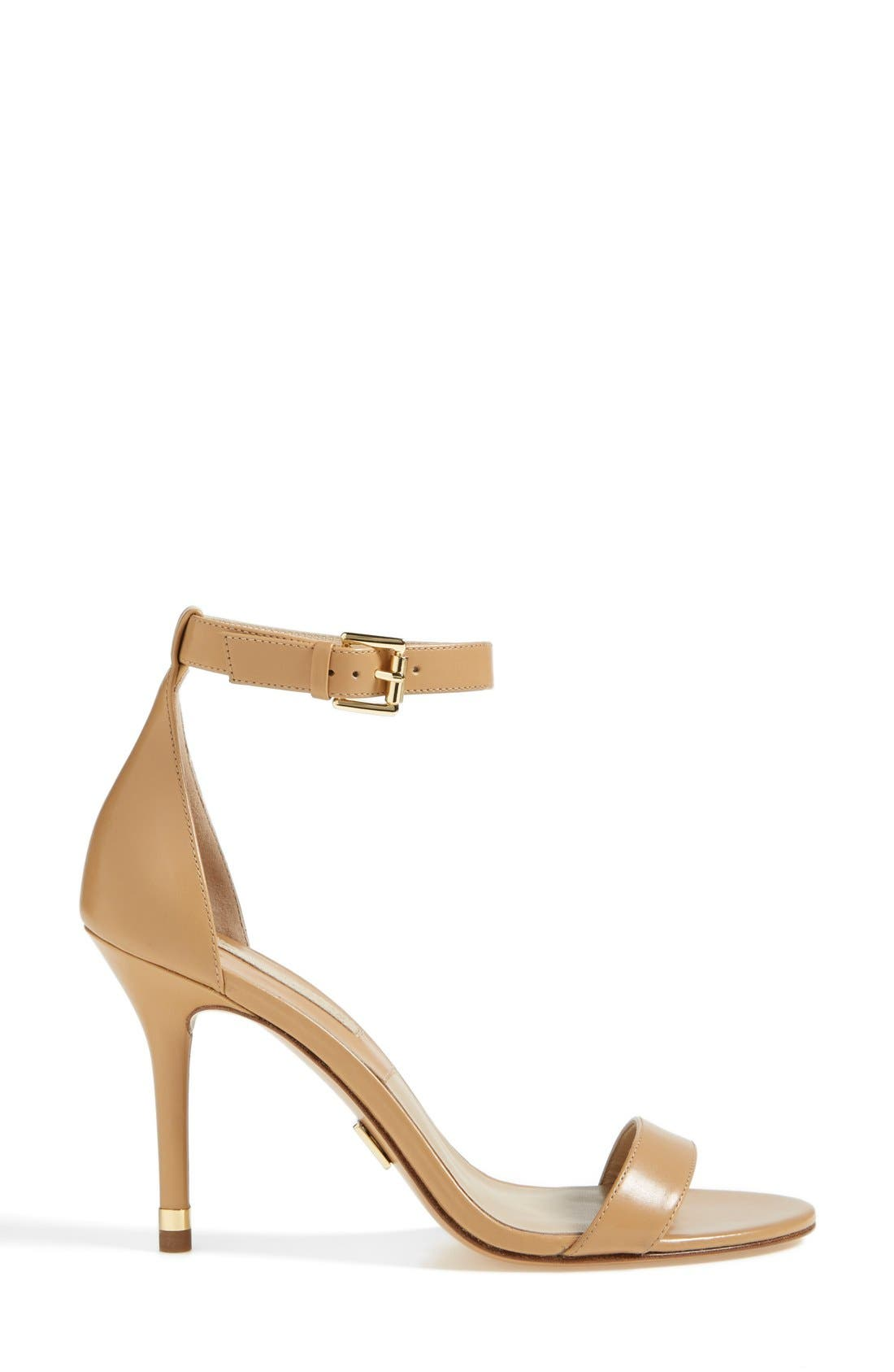 Alternate Image 4  - KORS Michael Kors 'Suri' Leather Sandal (Women)