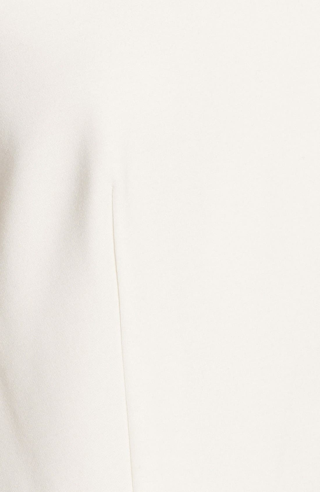 Alternate Image 4  - BB Dakota Lace & Ponte Sheath Dress