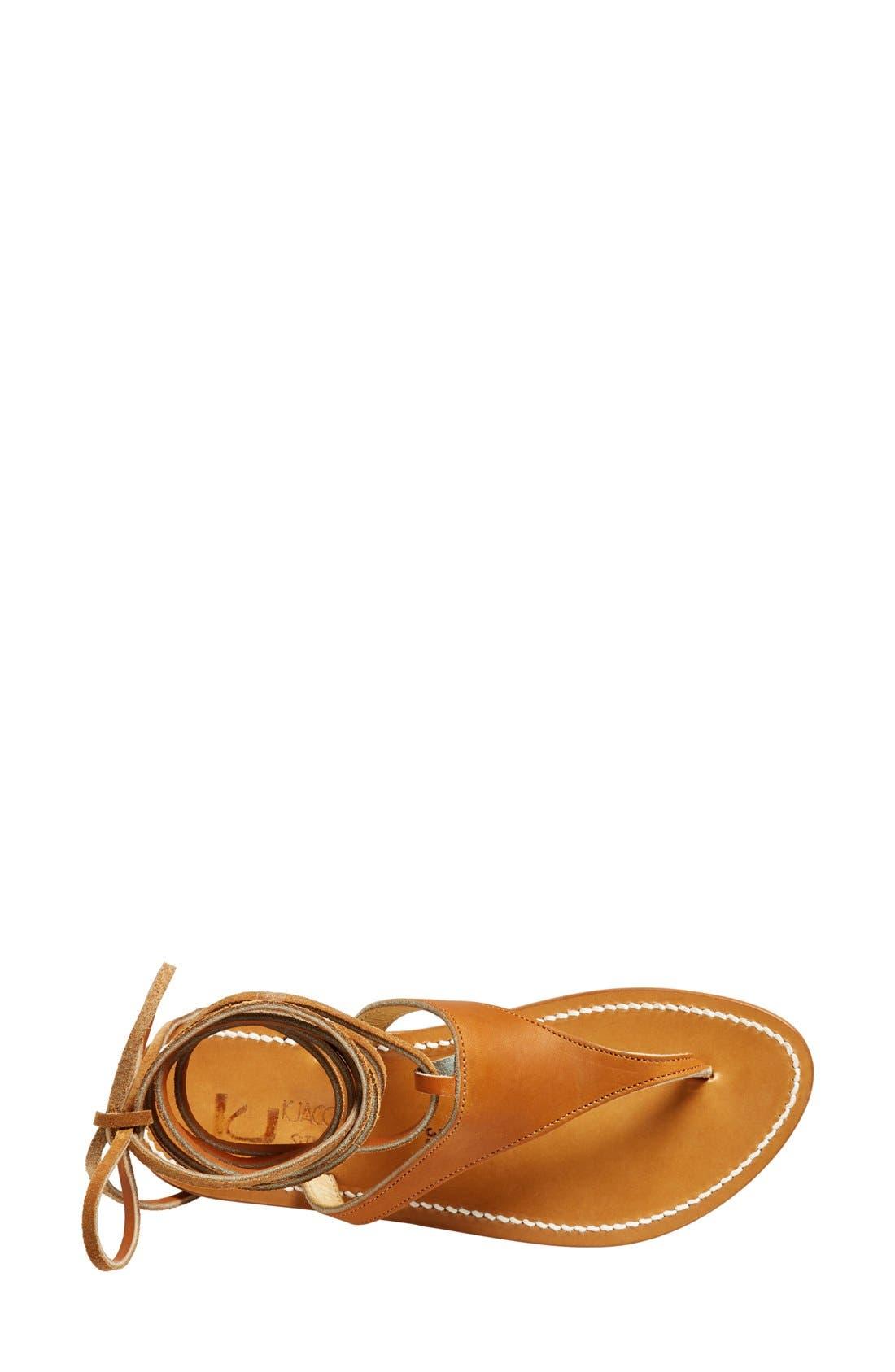Alternate Image 3  - K.Jacques St. Tropez Ankle Wrap Thong Sandal (Women)
