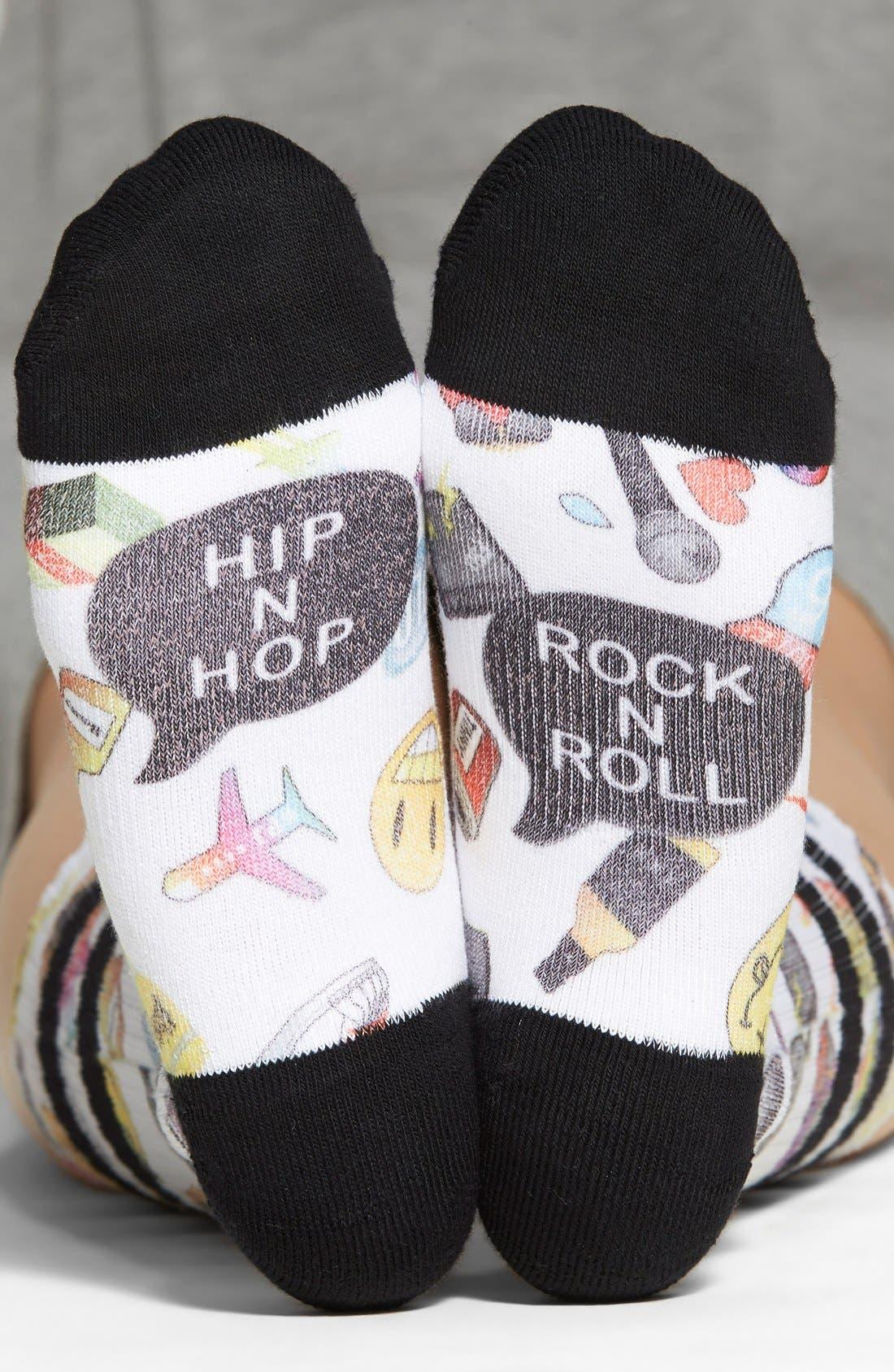 Alternate Image 1 Selected - Stance 'Hip 'N Hop' Crew Socks