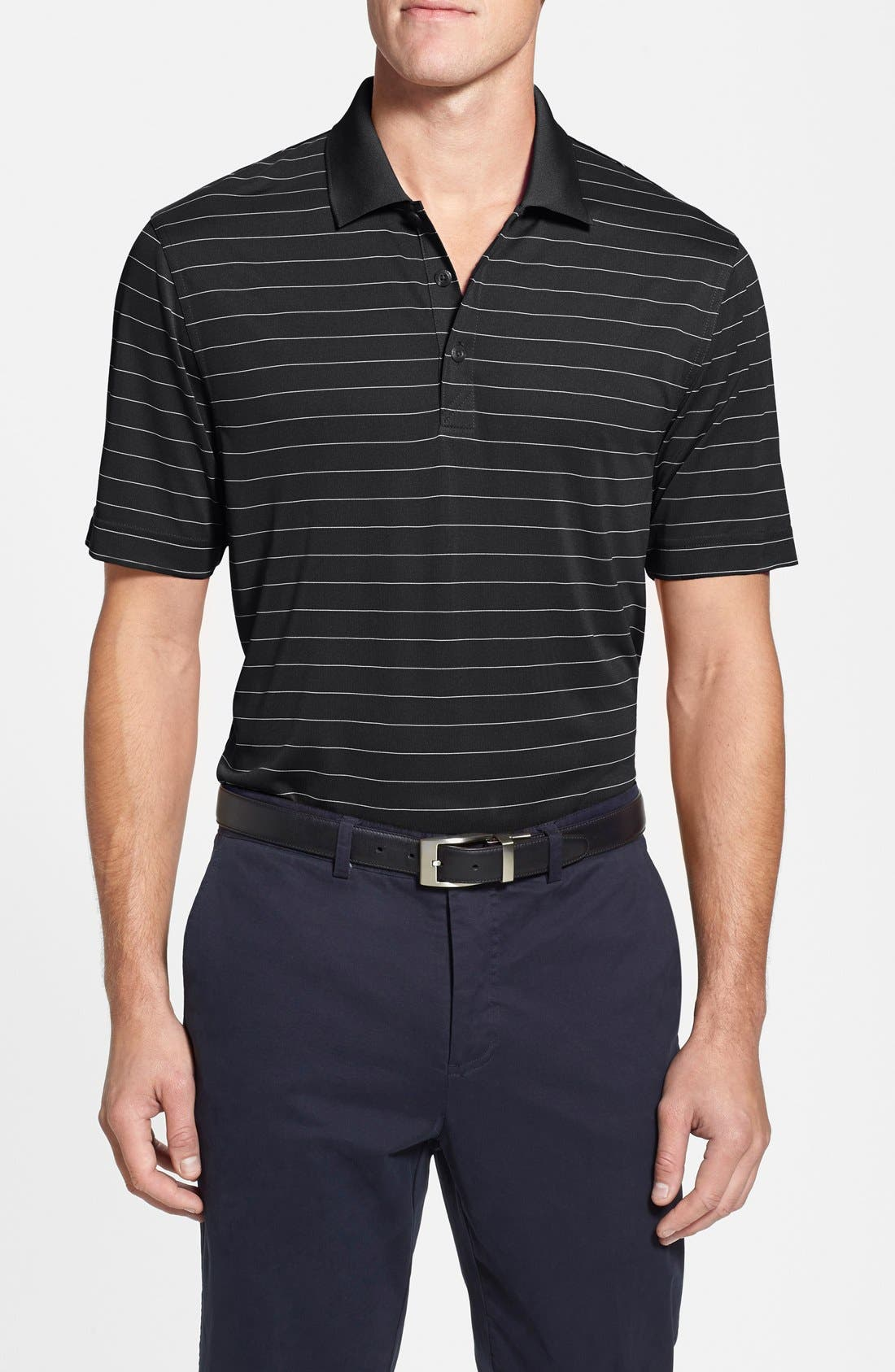 CUTTER & BUCK 'Franklin' Stripe DryTec® Polo