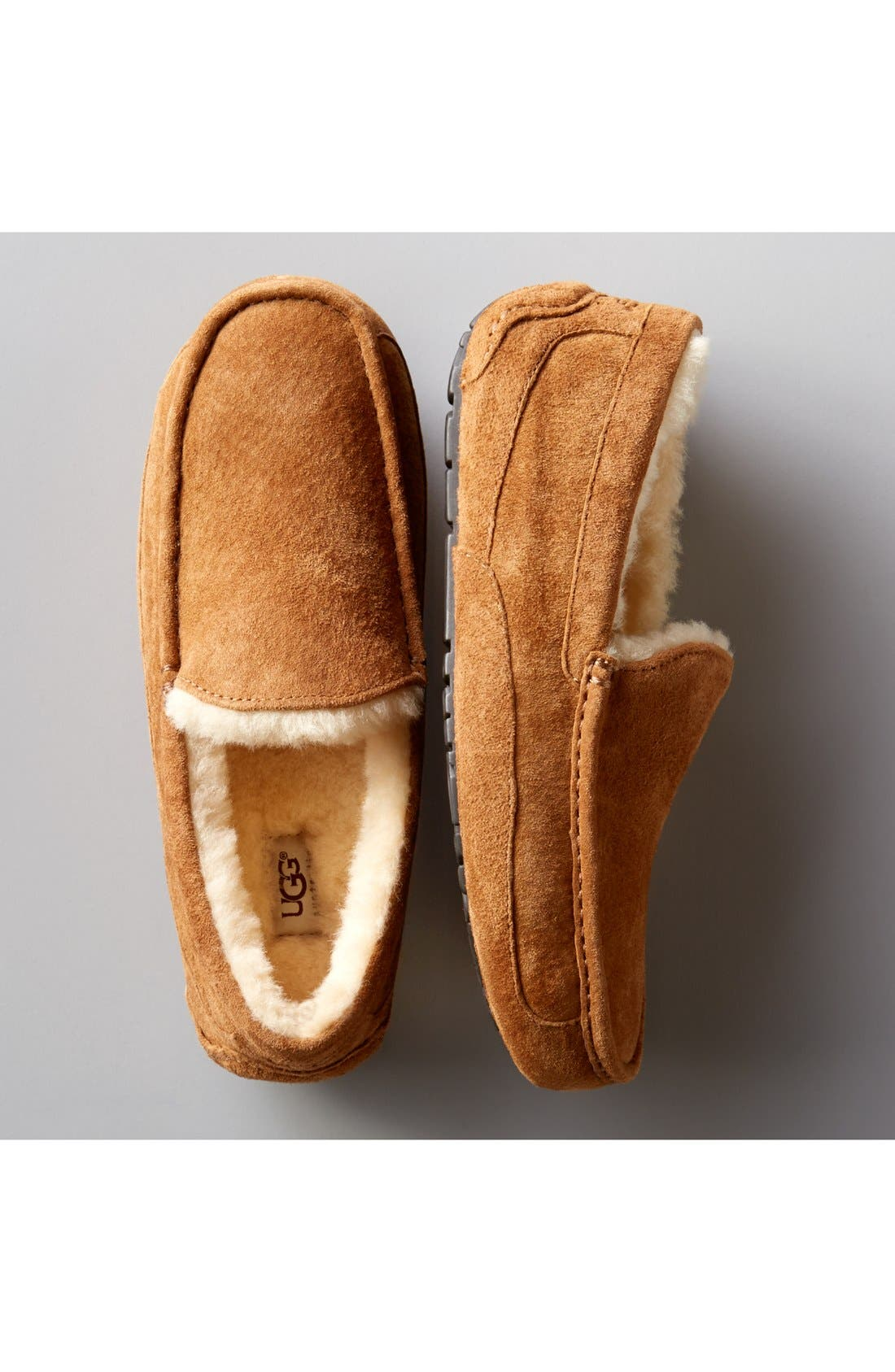 Alternate Image 7  - UGG® Ascot Suede Slipper (Men)