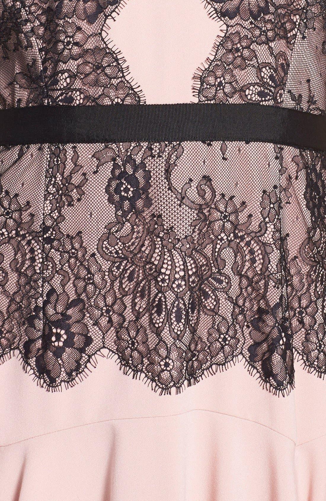 Alternate Image 4  - BCBGMAXAZRIA 'Leyla' Fit & Flare Halter Dress