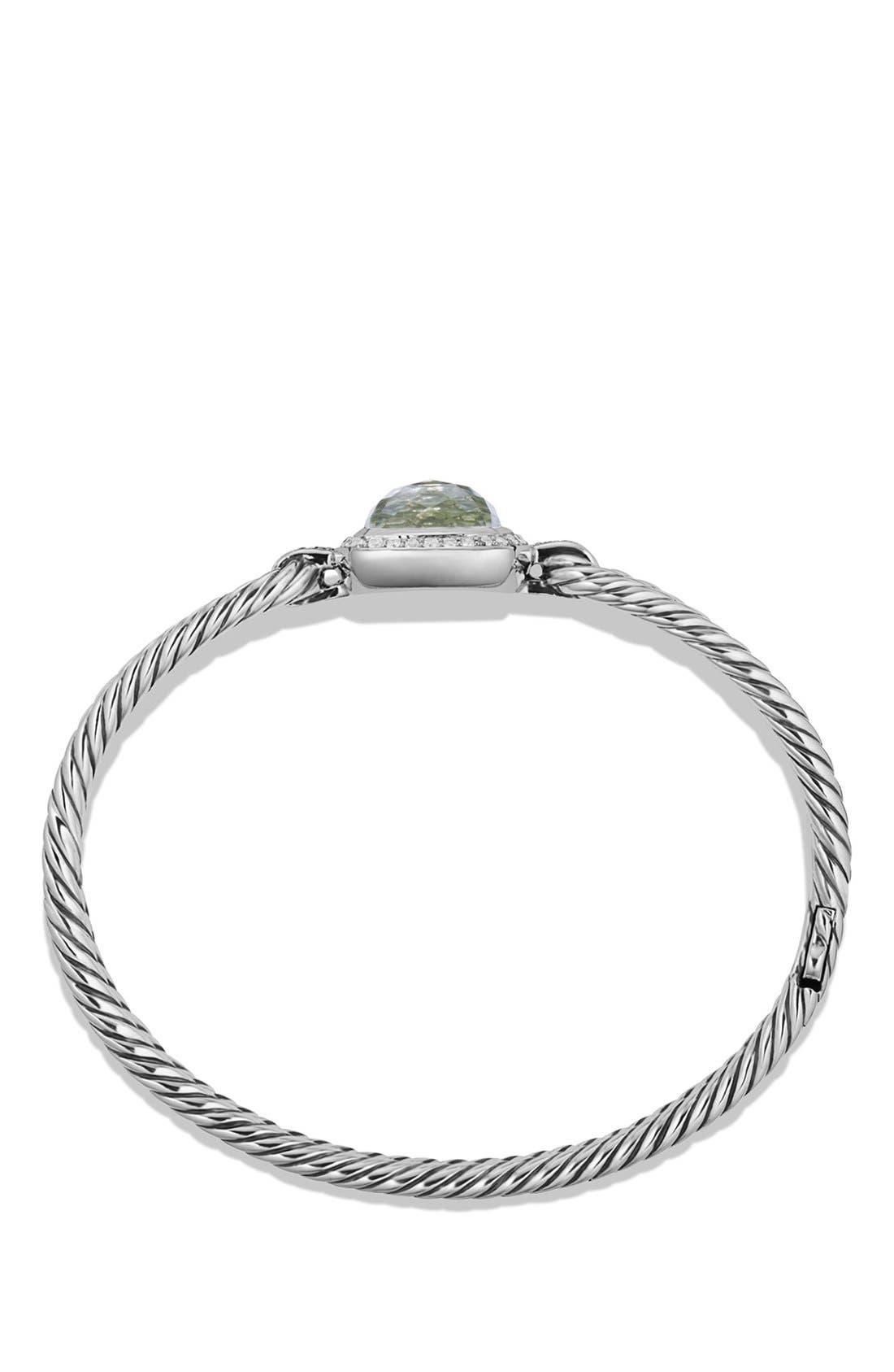 Alternate Image 2  - David Yurman 'Albion' Bracelet with Semiprecious Stone and Diamonds