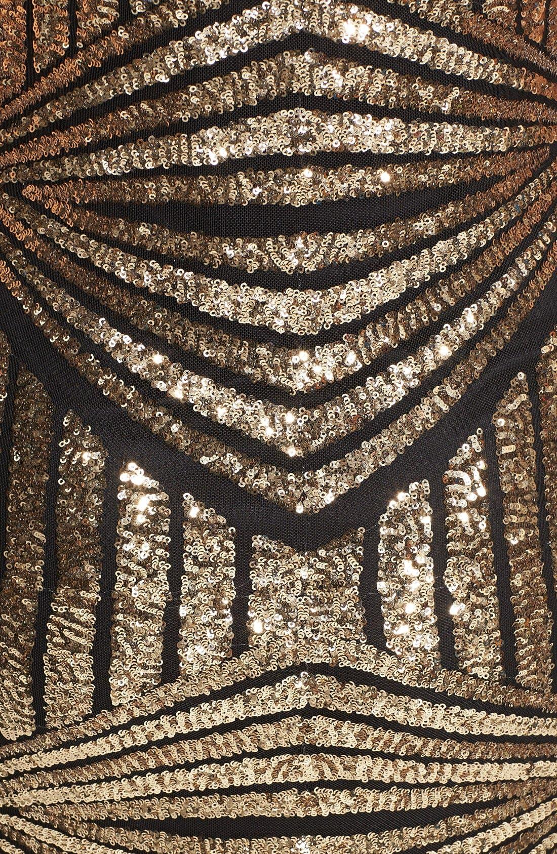 Alternate Image 3  - Soprano Sequin Sheath Dress (Juniors)
