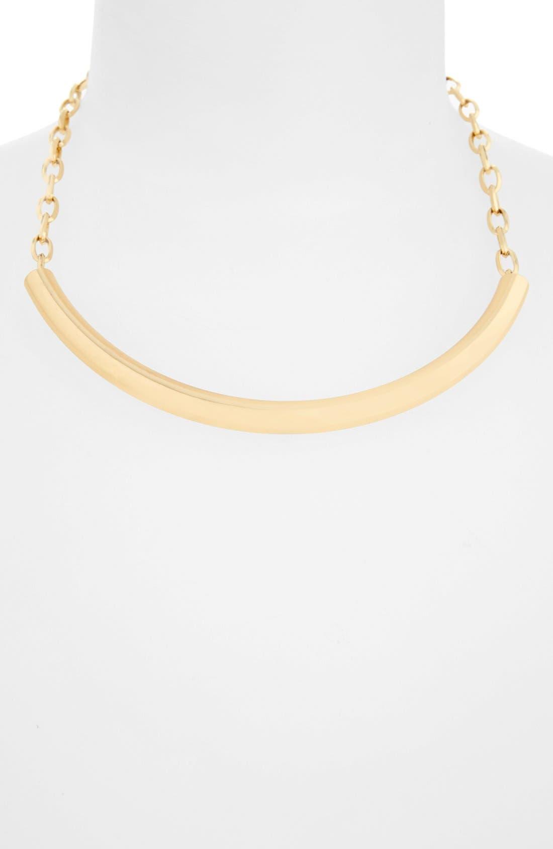 Alternate Image 1 Selected - Nordstrom Metal Bar Statement Necklace