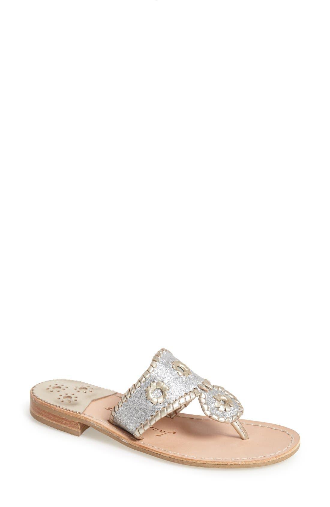 Main Image - Jack Rogers 'Sparkle' Sandal (Women)
