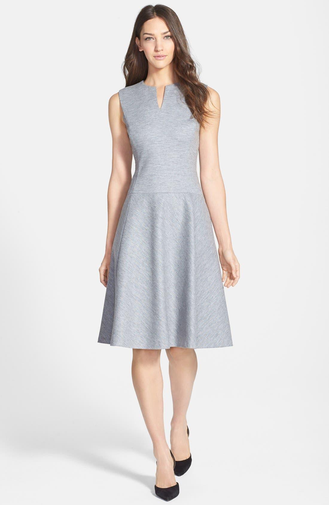 Main Image - Classiques Entier® 'Blackwood Jersey' Fit & Flare Dress