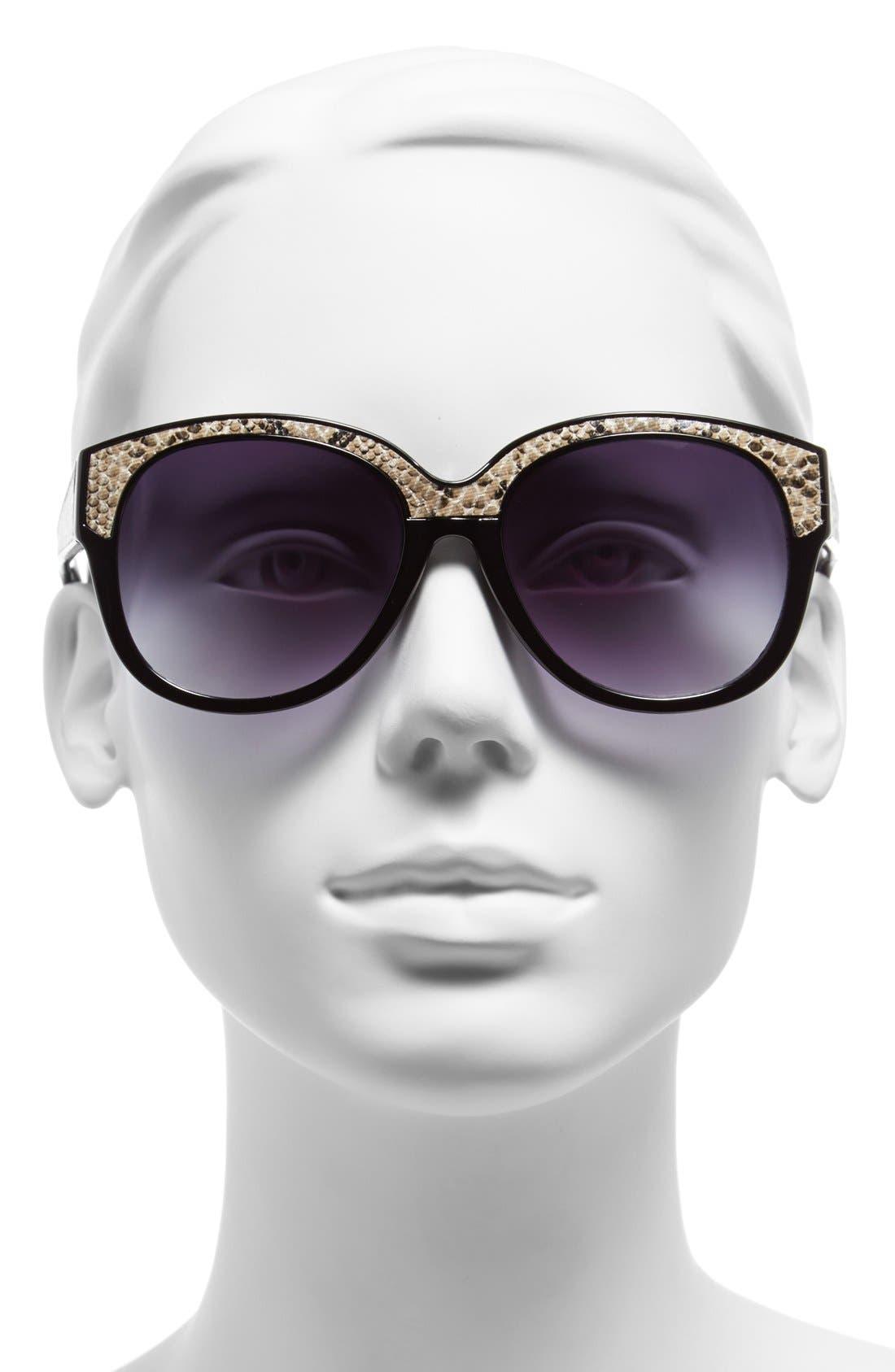 Alternate Image 2  - Steve Madden 55mm Retro Sunglasses