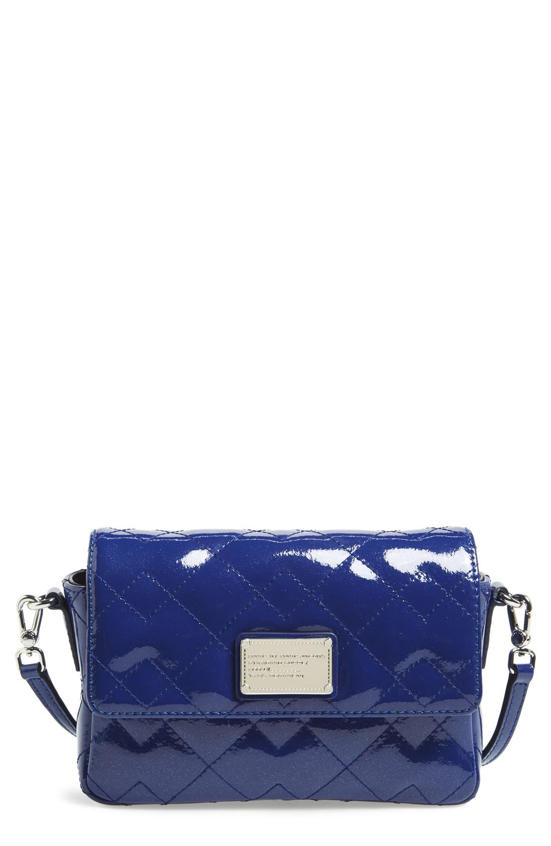 Alternate Image 1 Selected - MARC BY MARC JACOBS 'Nifty Gifty - Julie' Patent Leather Crossbody Bag