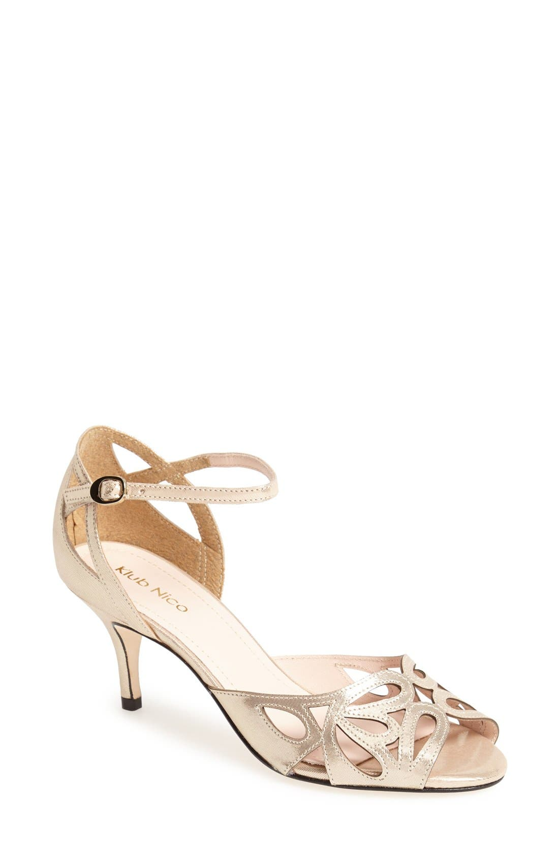 Alternate Image 1 Selected - Klub Nico 'Alysia' Ankle Strap Sandal (Women)