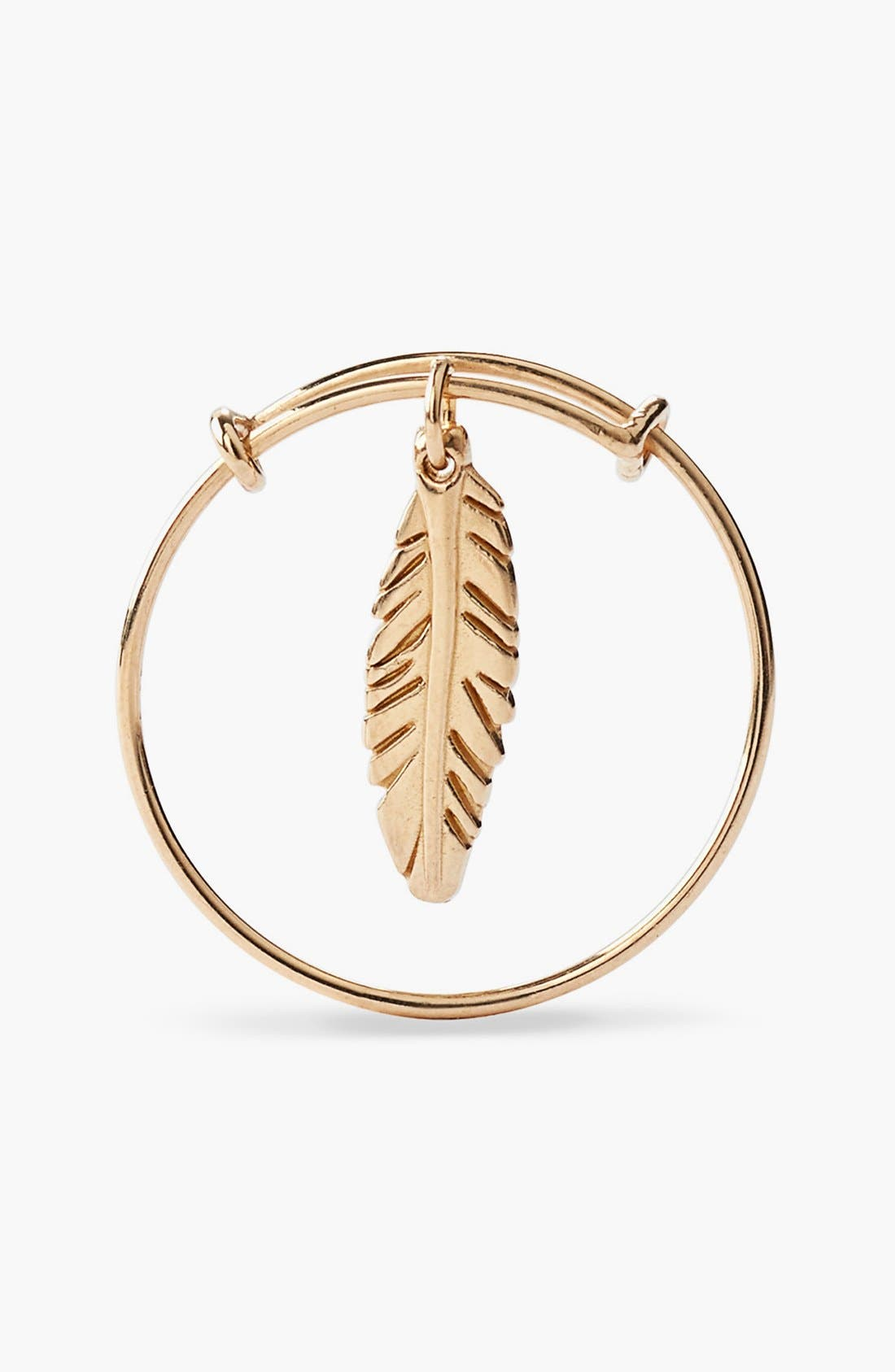 Alternate Image 2  - Alex and Ani 'Providence' Feather Expandable Wire Ring