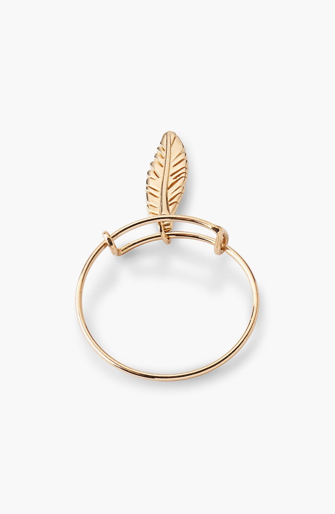 Alternate Image 5  - Alex and Ani 'Providence' Feather Expandable Wire Ring