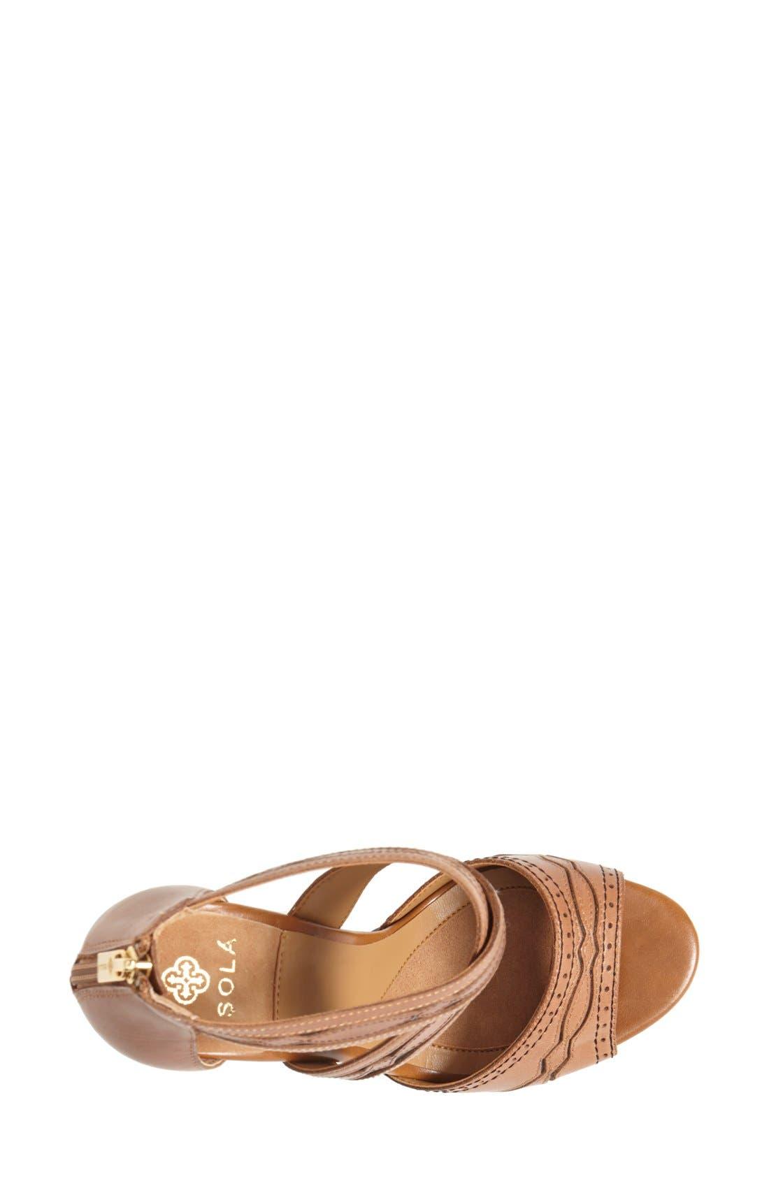 Alternate Image 3  - Isolá 'Dallon' Platform Sandal (Women)