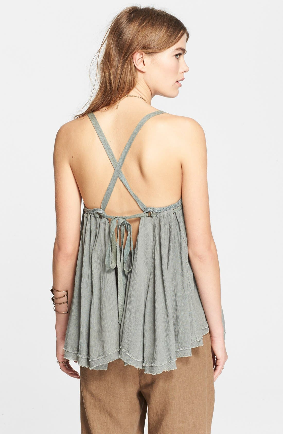 Alternate Image 2  - Free People 'Waiting for You' Strappy Tank