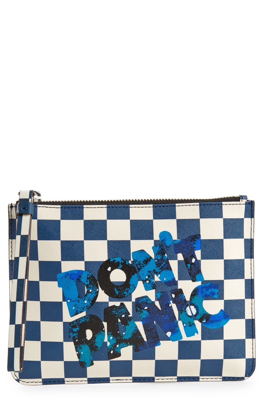 Alternate Image 1 Selected - MARC BY MARC JACOBS 'Sophisticato - Don't Panic' Wristlet