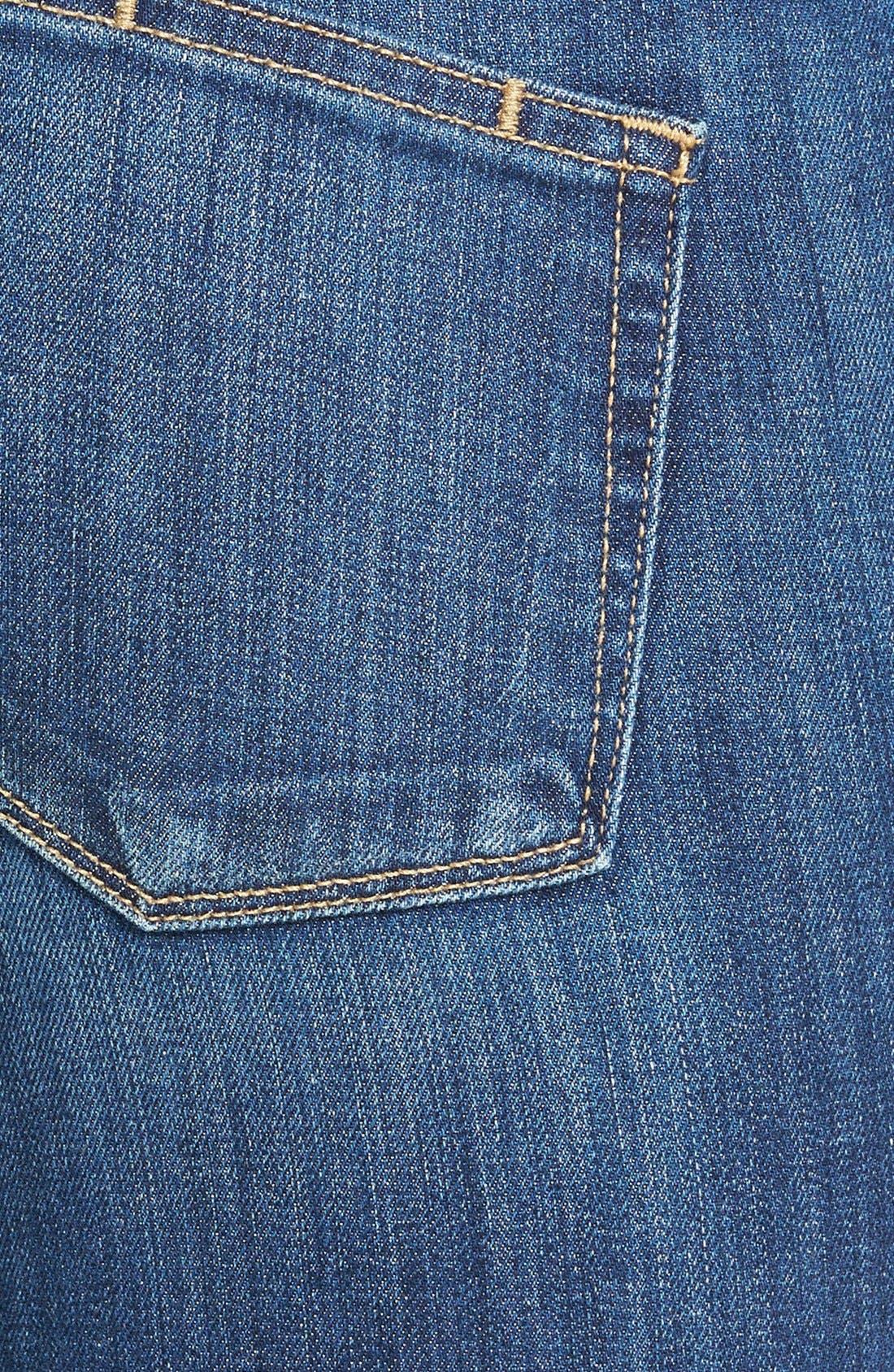 Alternate Image 3  - Paige Denim 'Skyline' Skinny Jeans (Orson Blue)
