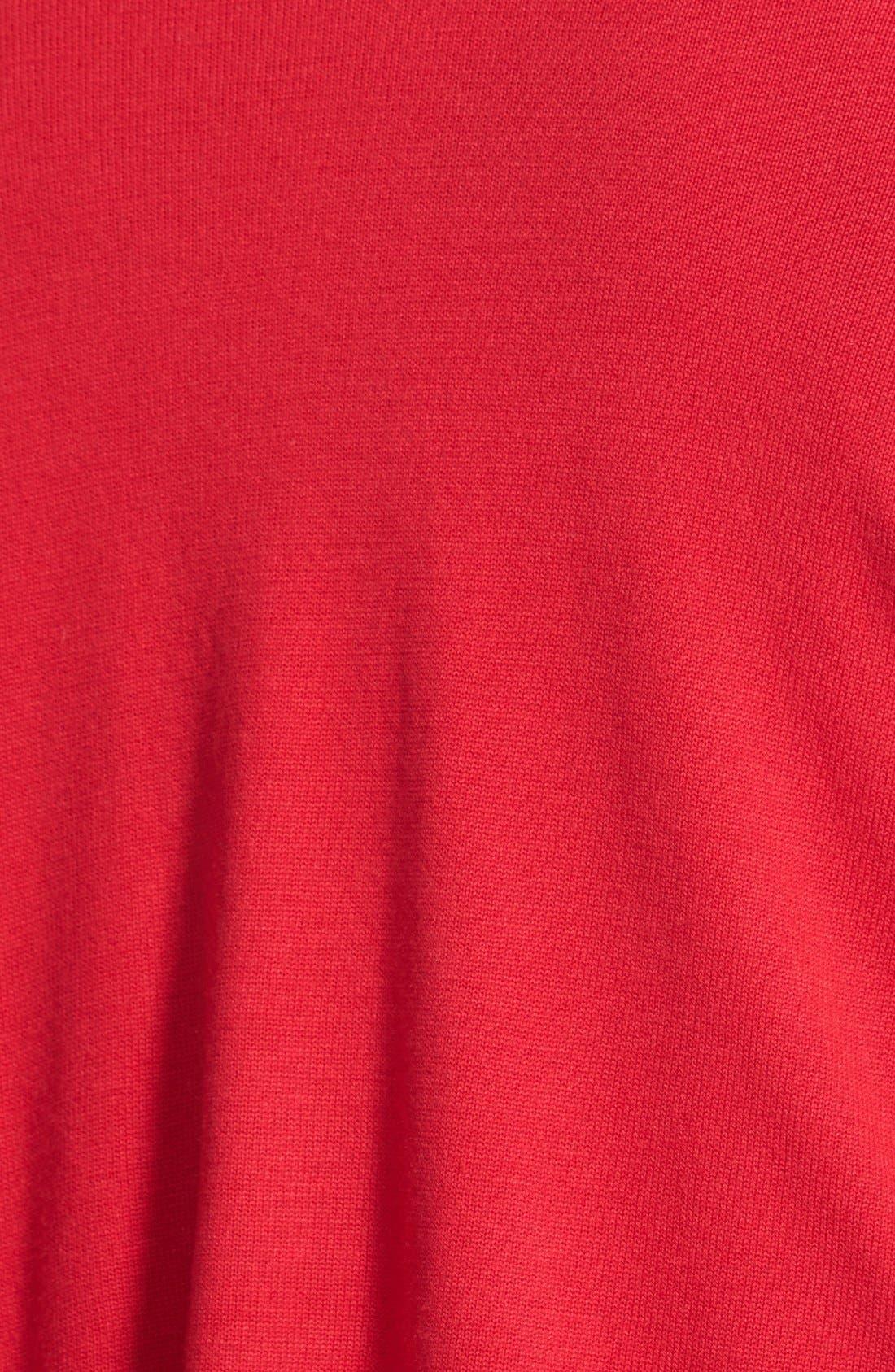 Alternate Image 3  - DKNYC Oversize Drape Front Cardigan (Plus Size)