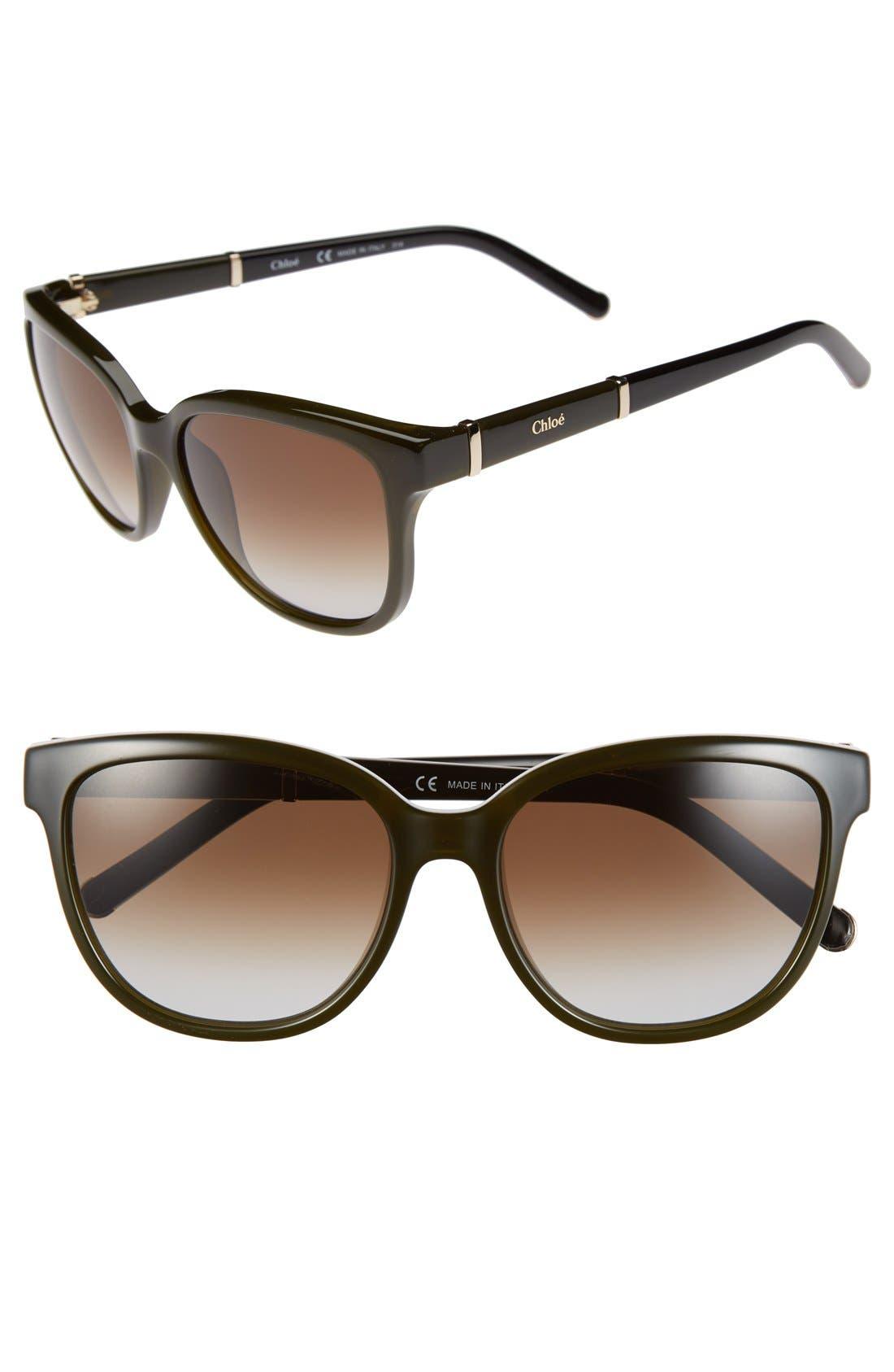 Alternate Image 1 Selected - Chloé 'Daisy' 54mm Sunglasses