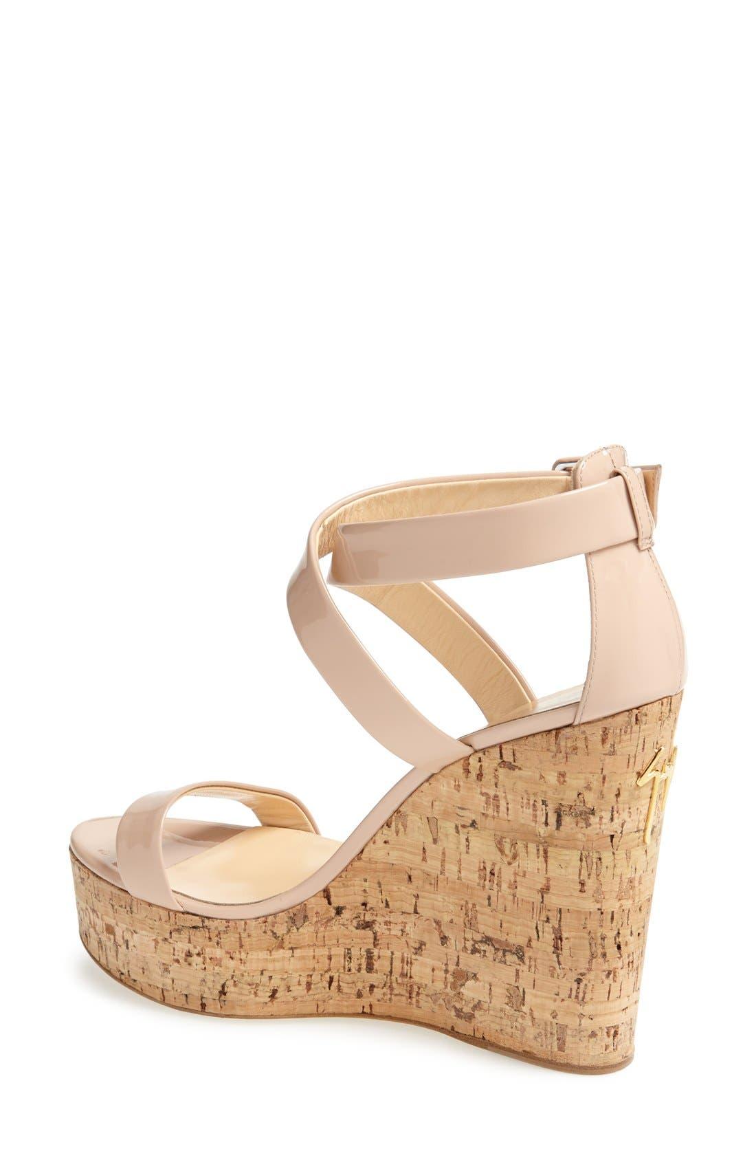 Alternate Image 2  - Giuseppe Zanotti 'Roz' Platform Wedge Sandal (Women)