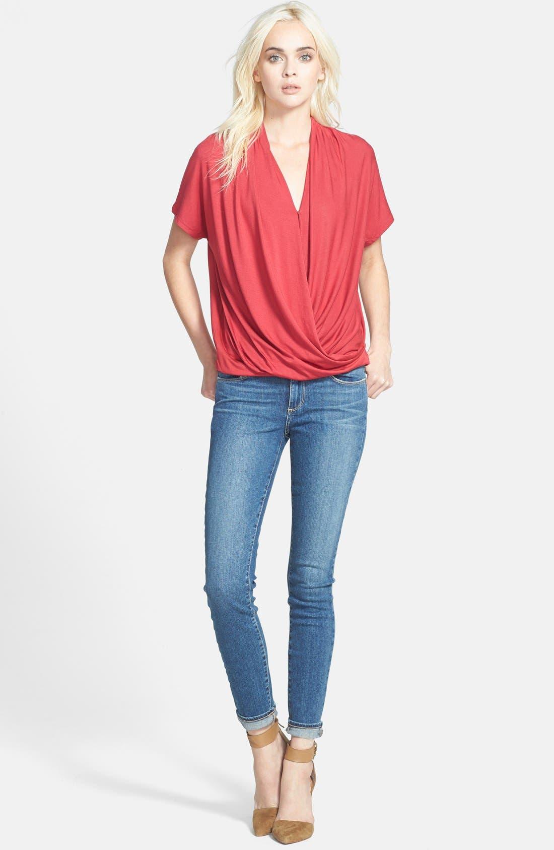 Alternate Image 4  - Paige Denim 'Verdugo' Ultra Skinny Jeans (Miles Blue)