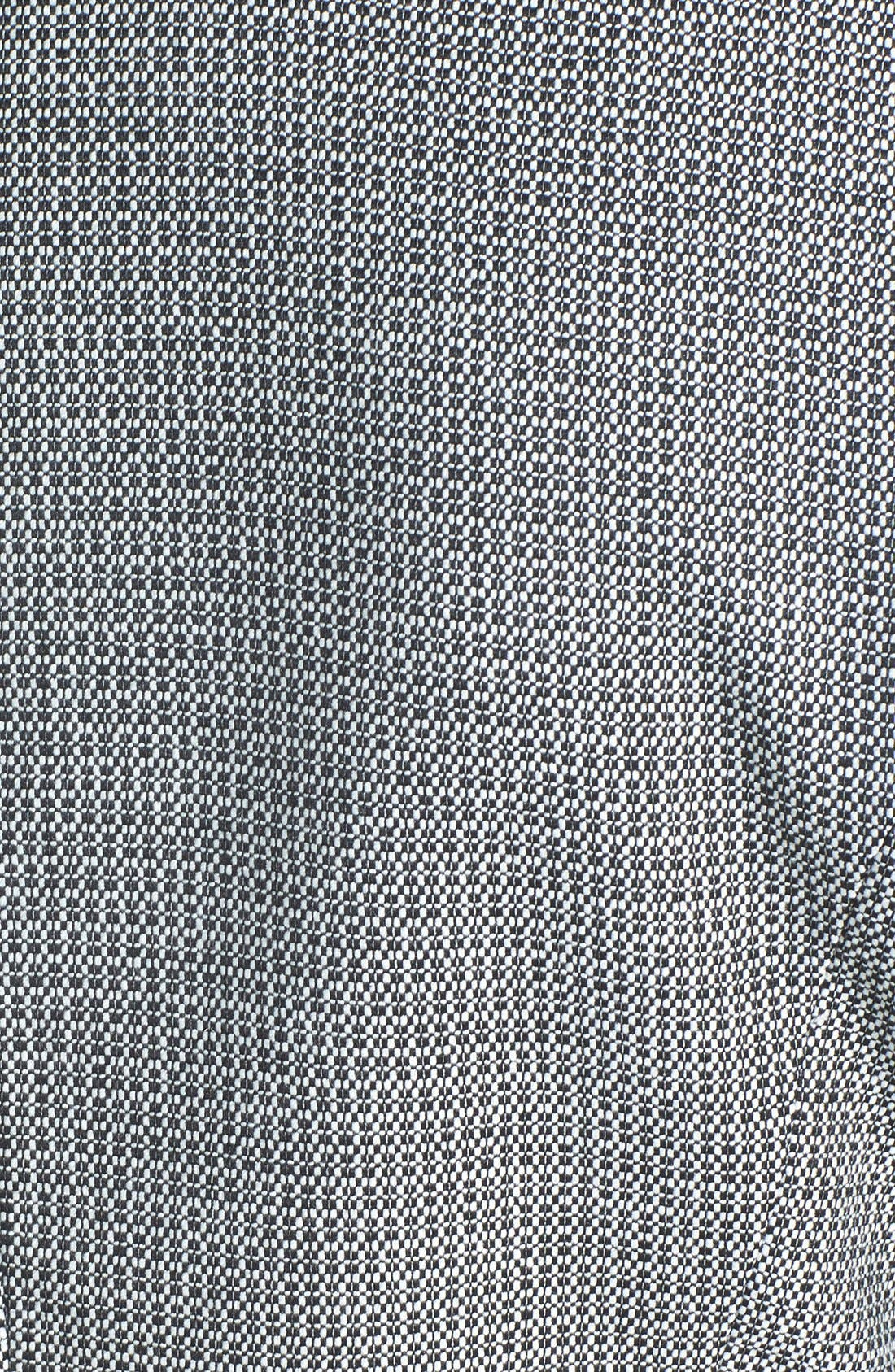 Alternate Image 3  - Halogen® One-Button Peplum Jacket (Regular & Petite)