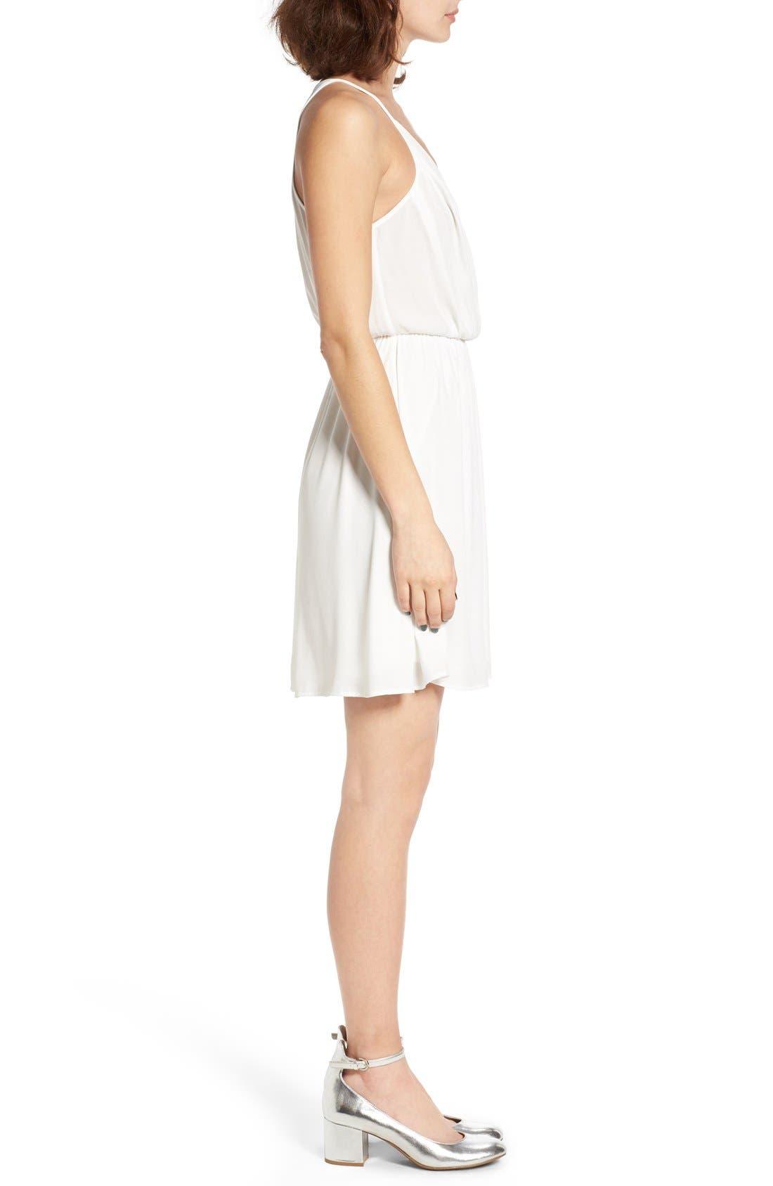 Alternate Image 3  - Lush Surplice Camisole Dress