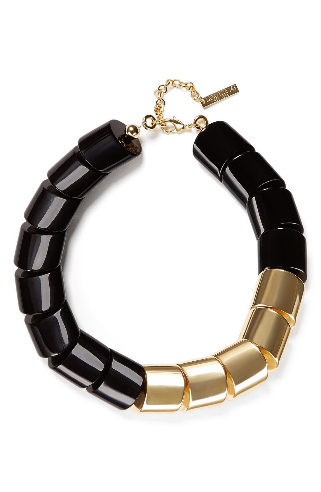 Alternate Image 1 Selected - Lafayette 148 New York Mixed Link Necklace
