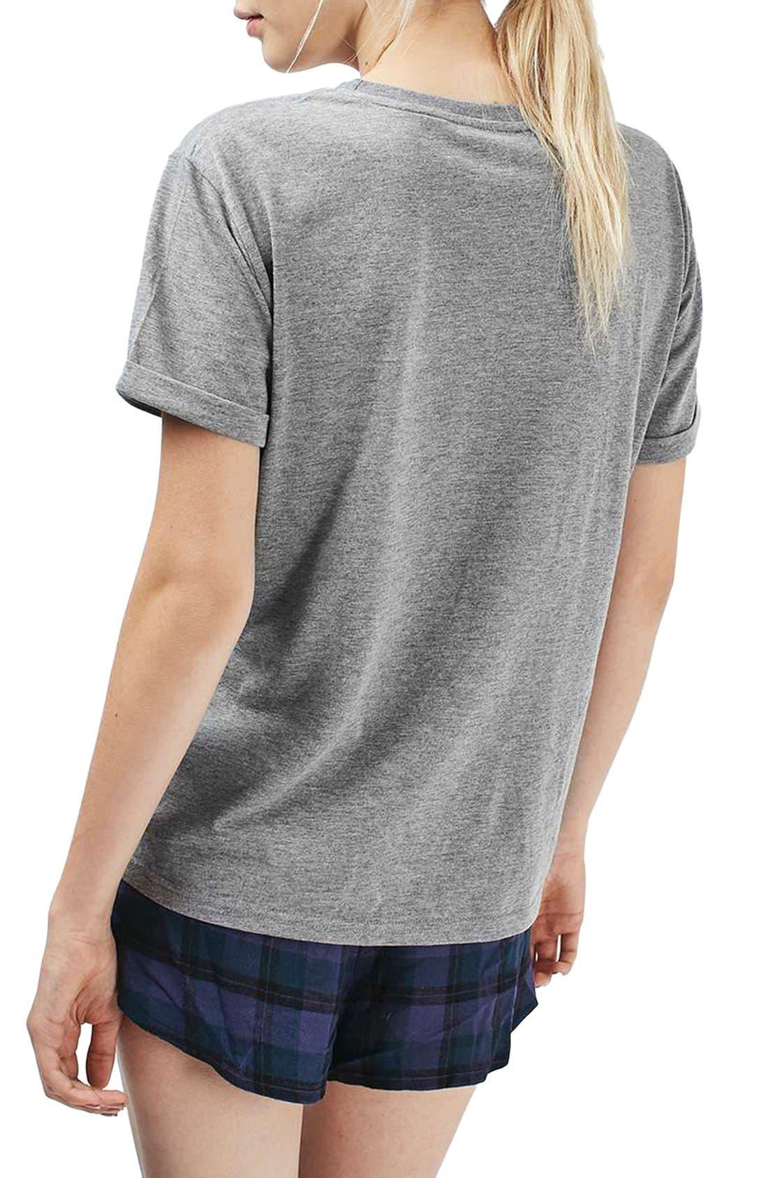 Alternate Image 2  - Topshop Fri-Yay Pajamas
