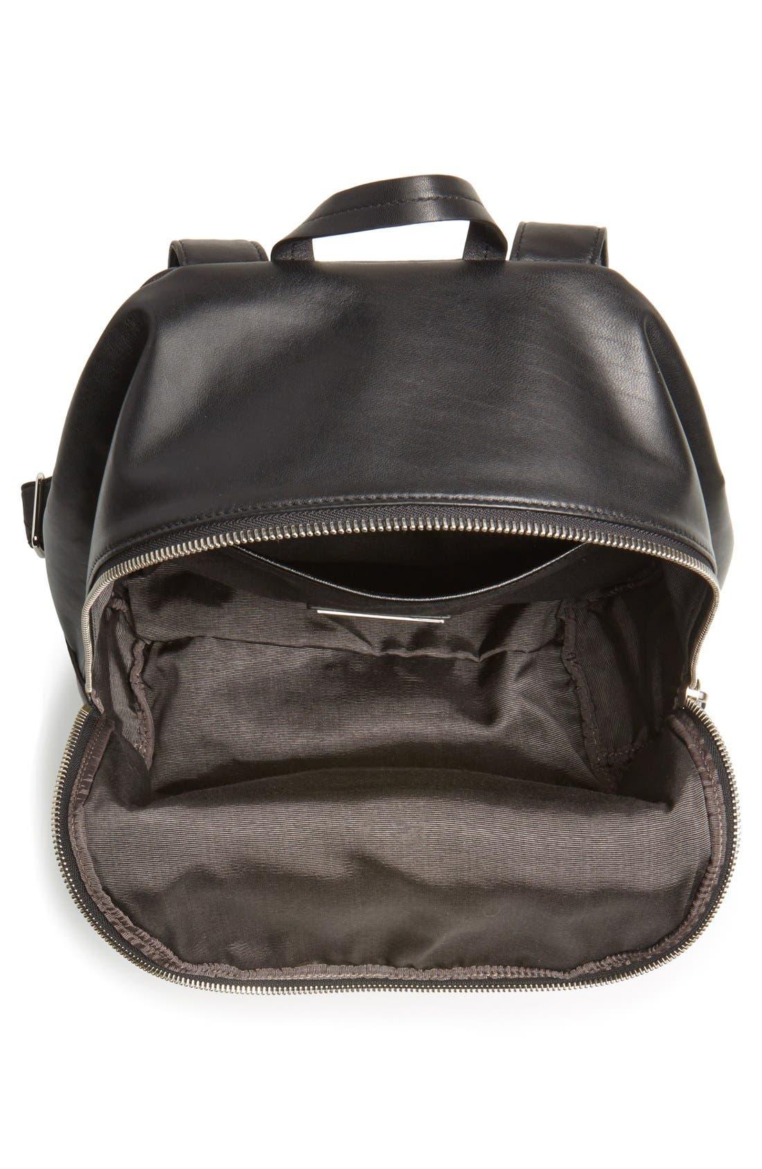 Alternate Image 3  - Elizabeth and James 'Cynnie' Lizard Embossed Leather Backpack
