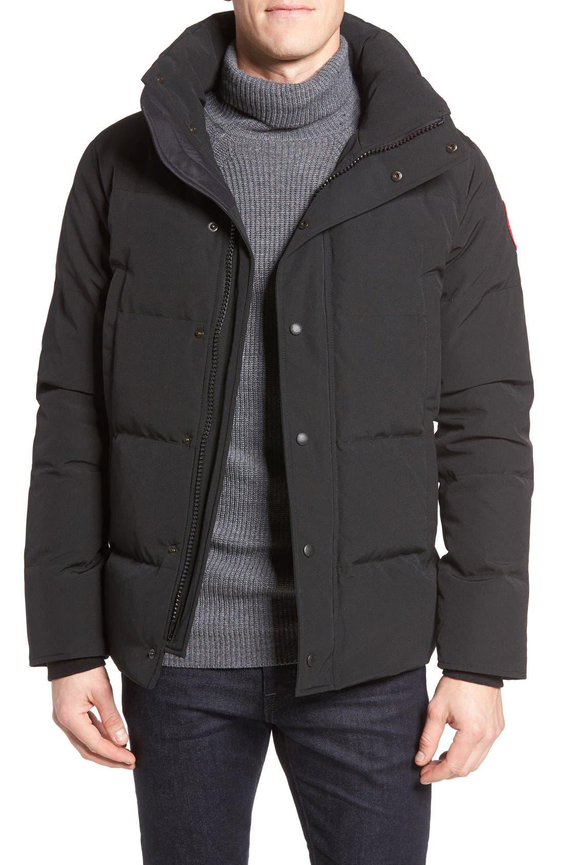 Alternate Image 4  - Canada Goose Wyndham Slim Fit Genuine Coyote Fur Trim Down Jacket