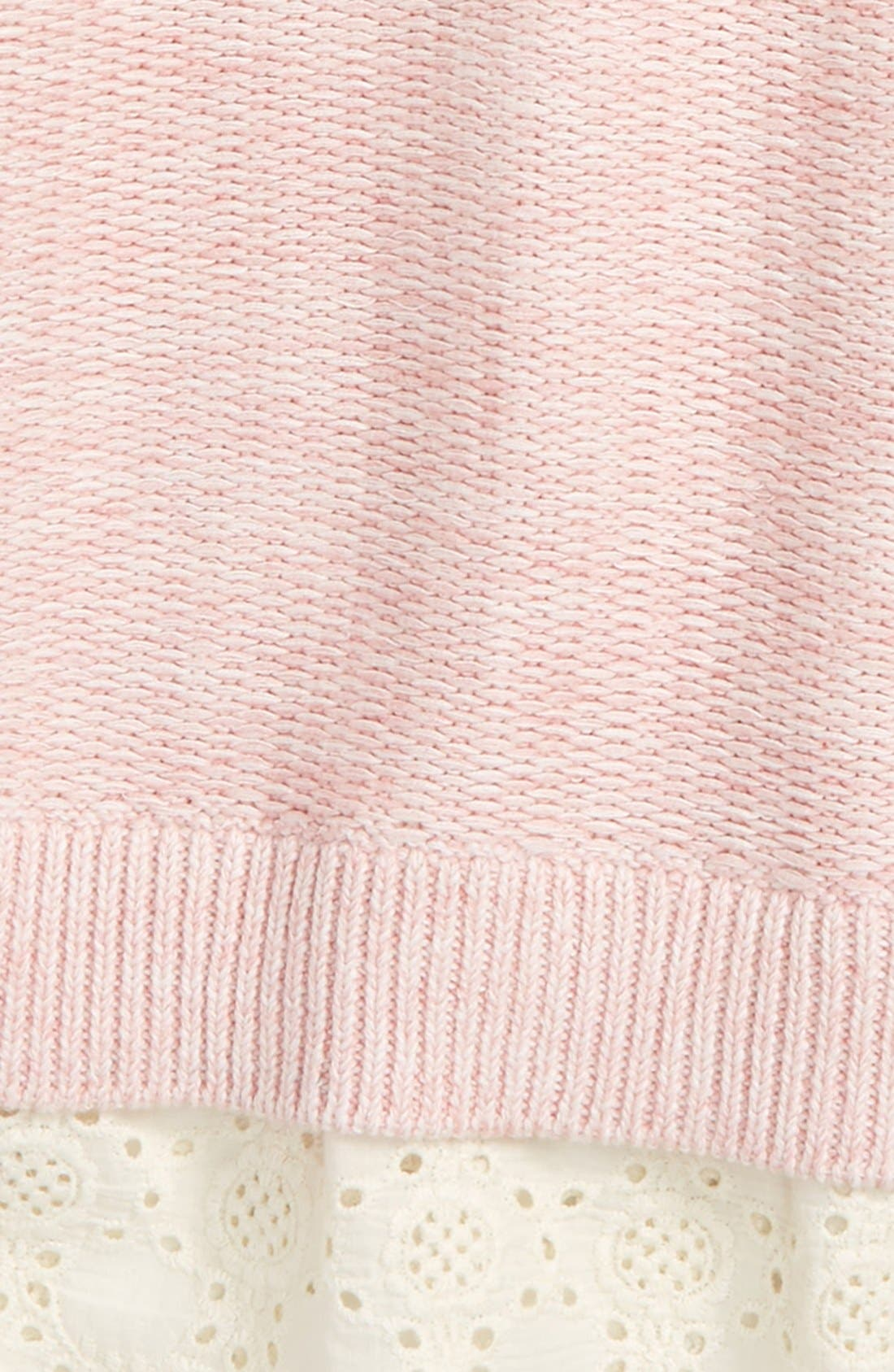 Alternate Image 2  - Peek Lulu Sweater (Toddler Girls, Little Girls & Big Girls)