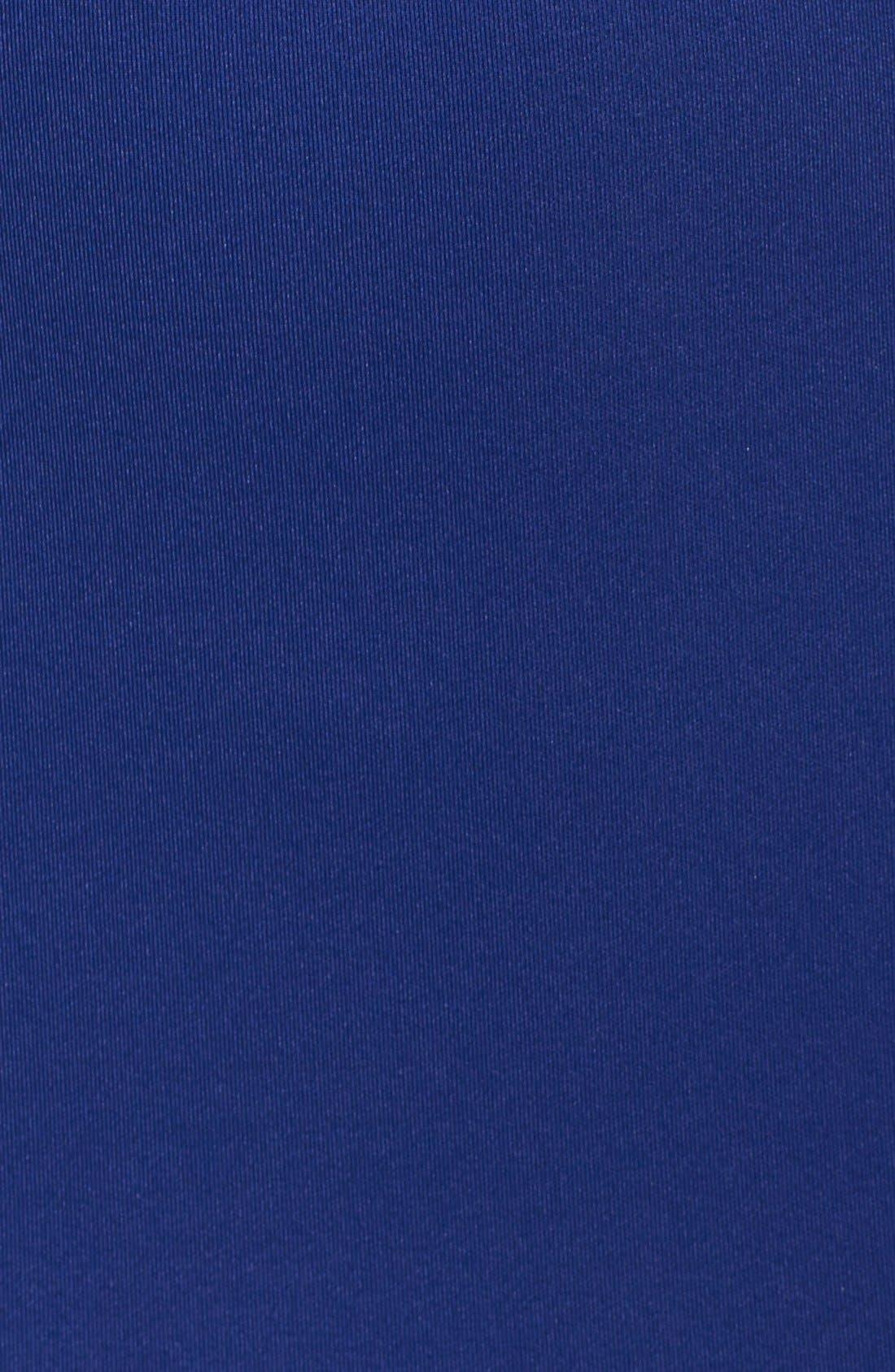 Alternate Image 5  - La Femme Cutout Scuba Gown