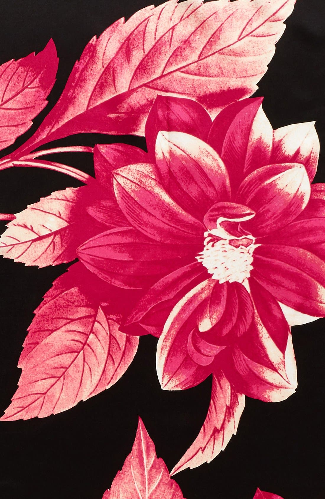 Alternate Image 3  - Vince Camuto Floating Florals Square Silk Scarf