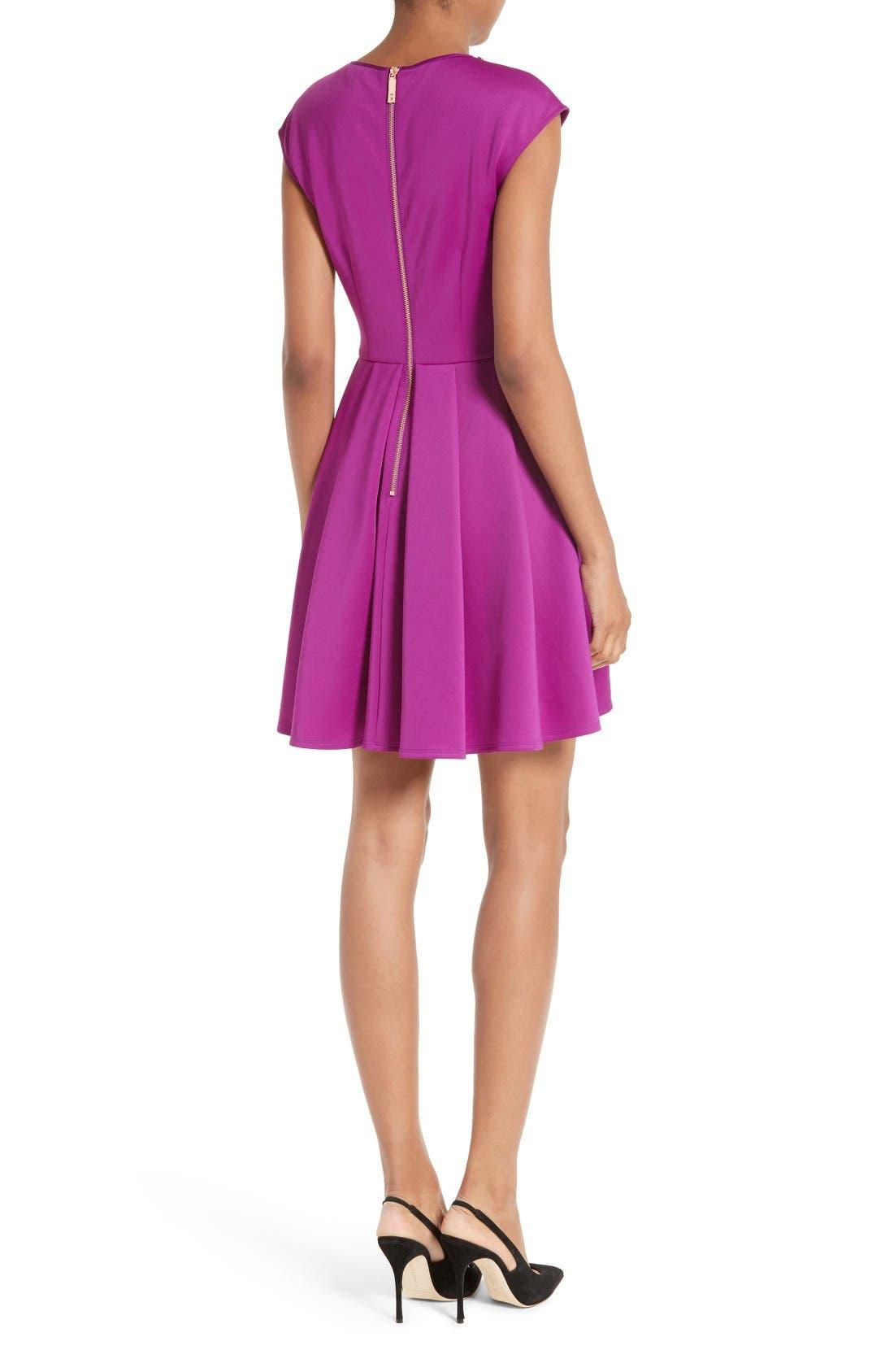 Alternate Image 2  - Ted Baker London J'adore Embellished Fit & Flare Dress