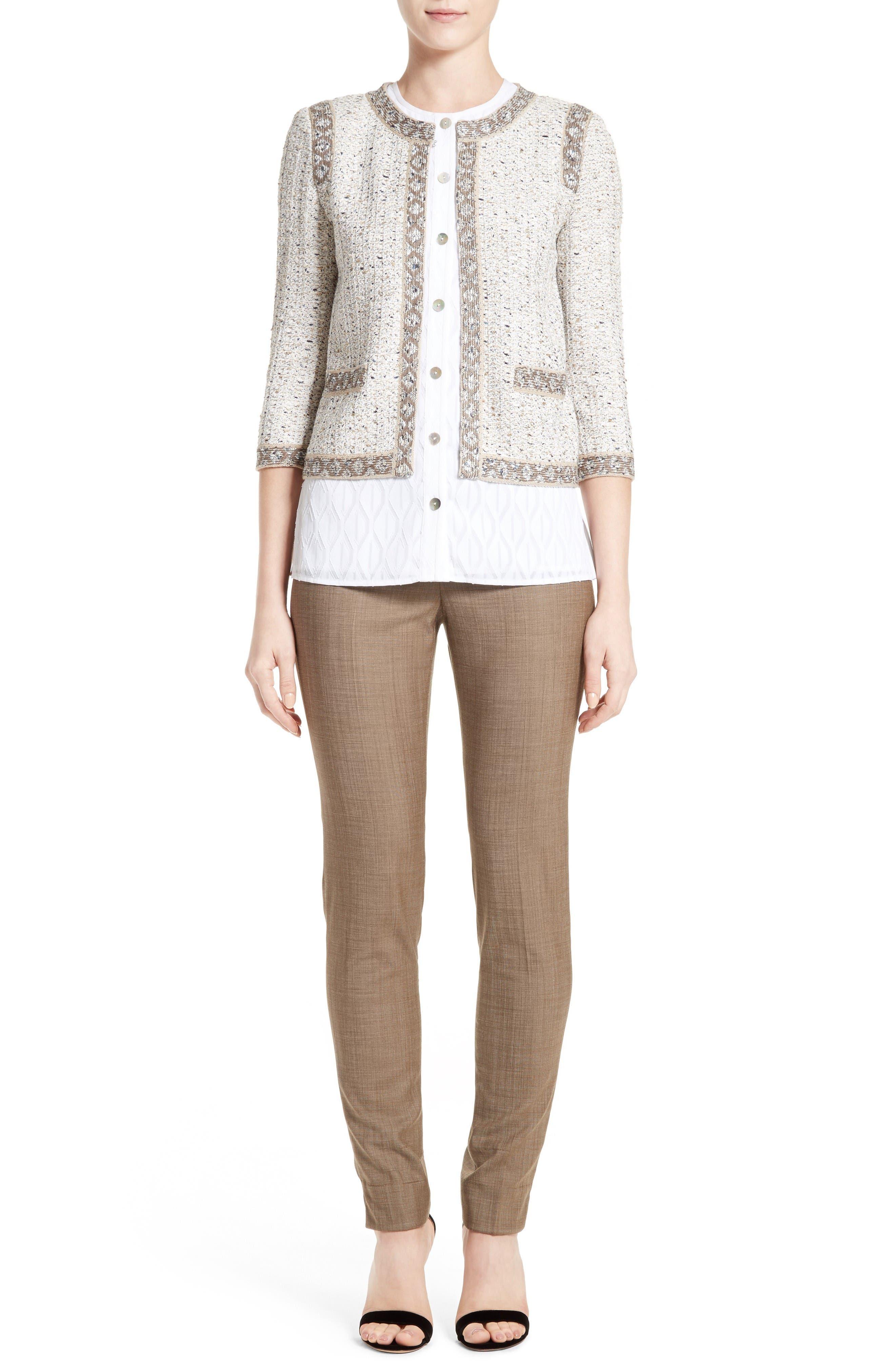 Alternate Image 7  - St. John Collection Kira Tweed Jacket