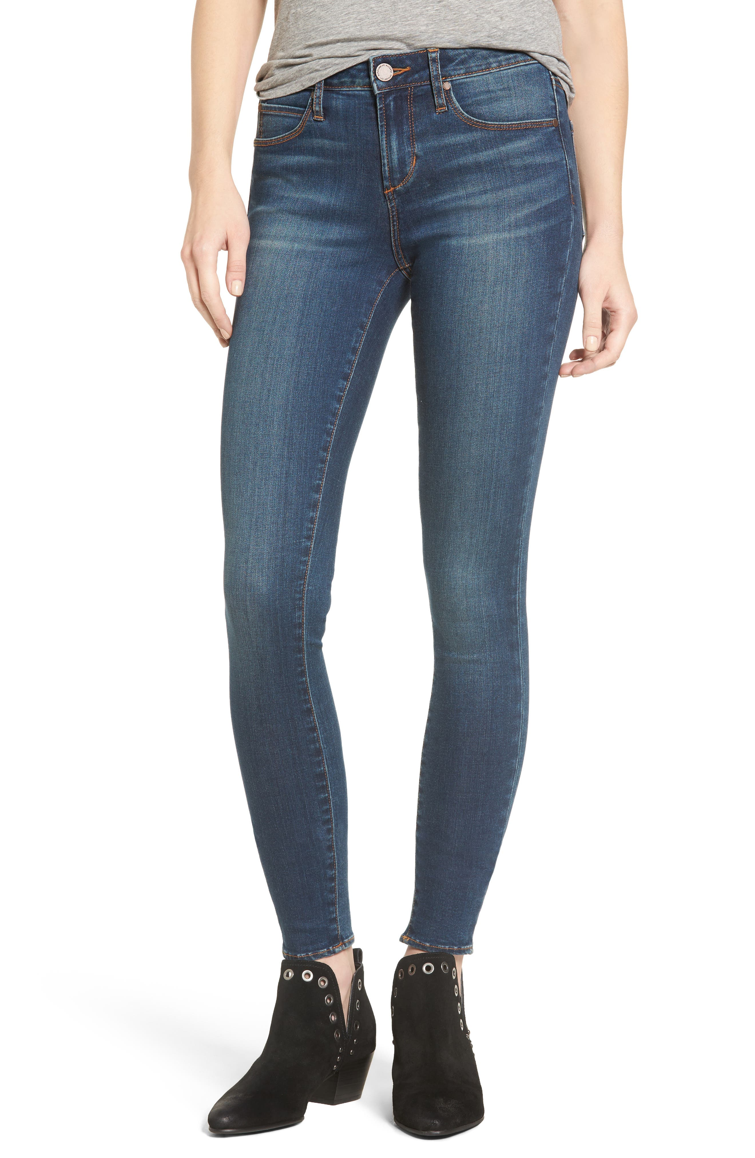 Alternate Image 1 Selected - Articles of Society Mya Skinny Jeans (Alpha)