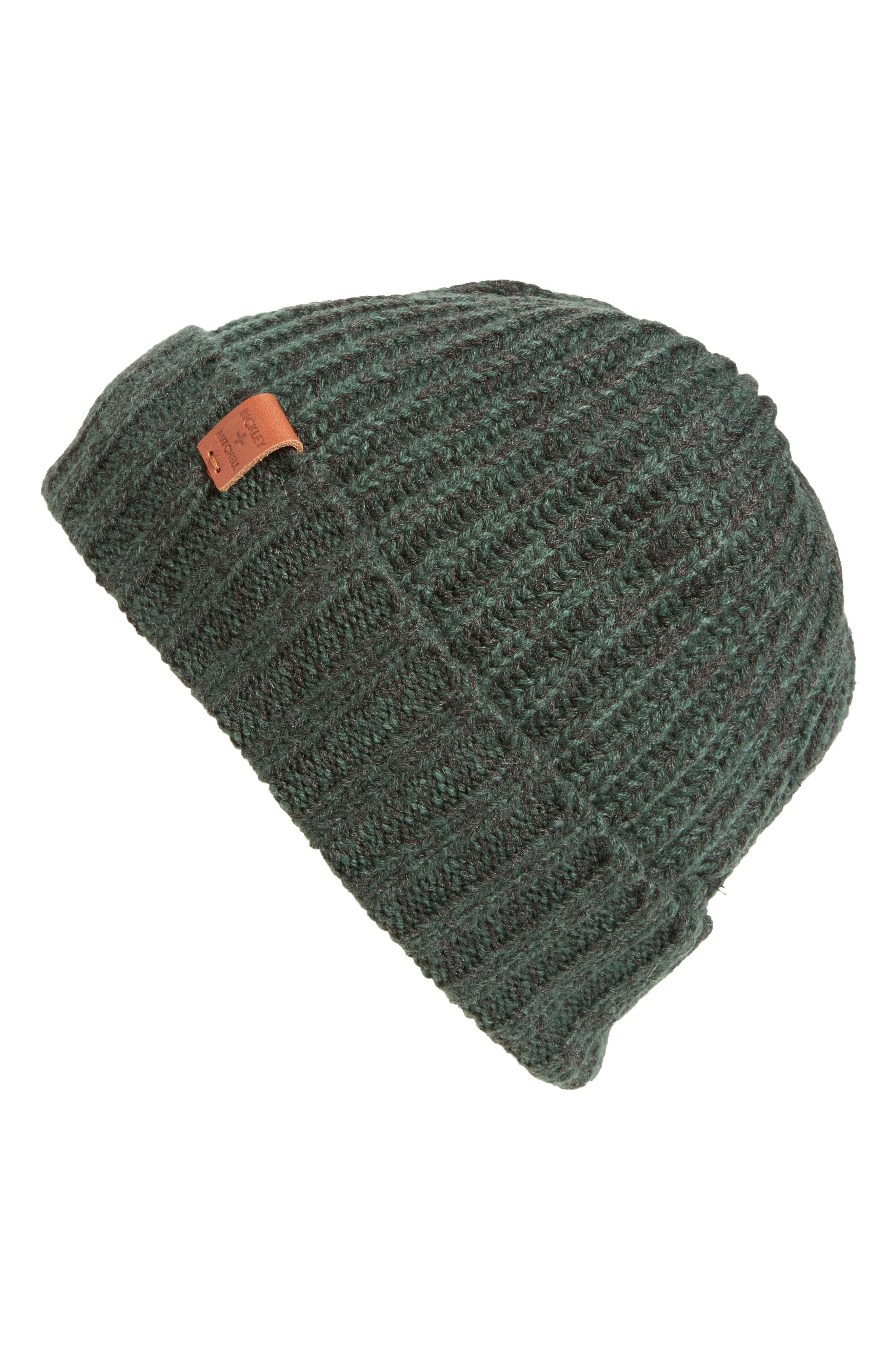 Alternate Image 1 Selected - Bickley + Mitchell Rib Knit Hat