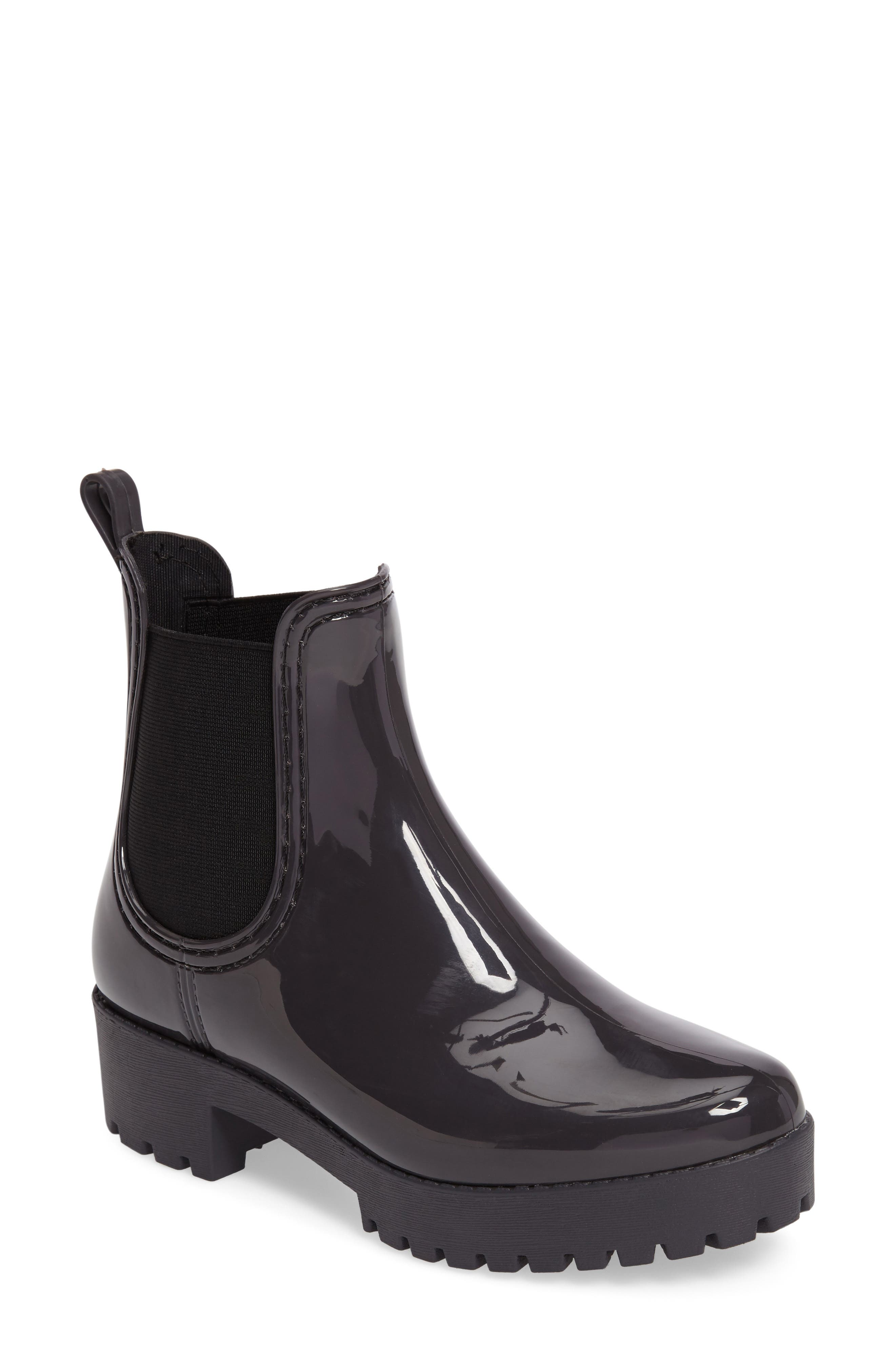 Jeffrey Campbell Cloudy Chelsea Rain Boot (Women)
