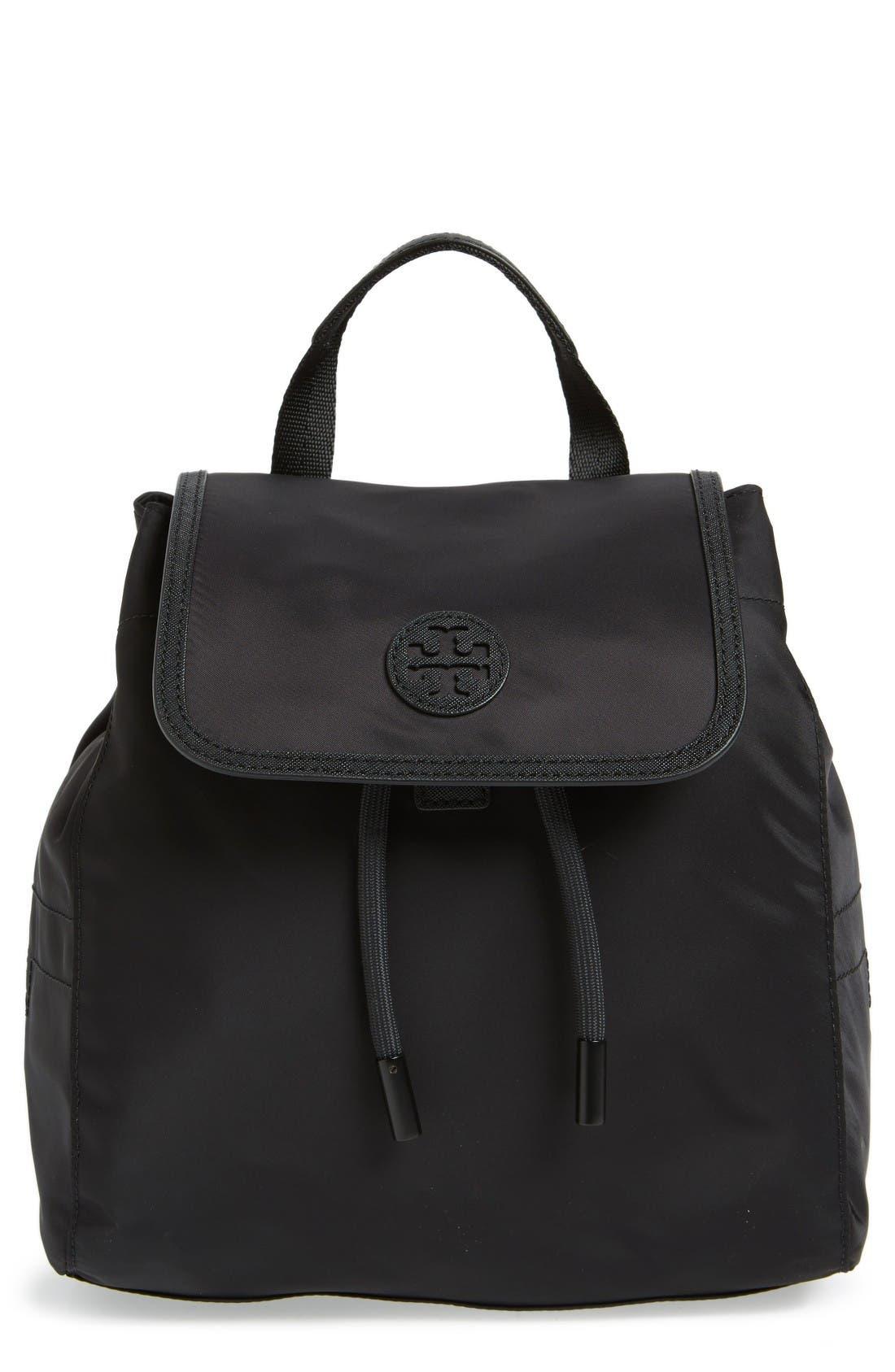 Main Image - Tory Burch Mini Scout Nylon Backpack